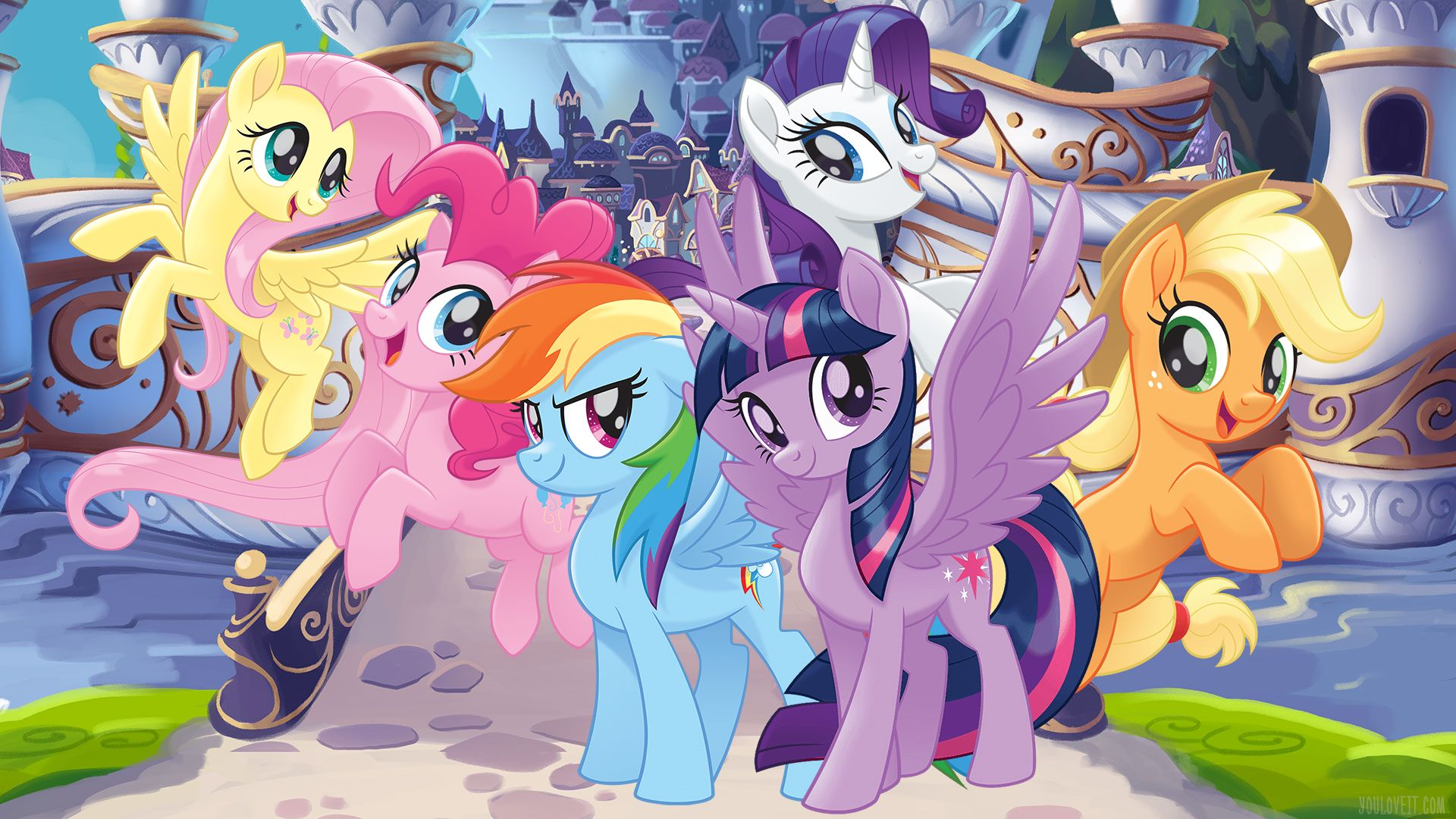 My Little Pony Wallpapers Top Free My Little Pony Backgrounds