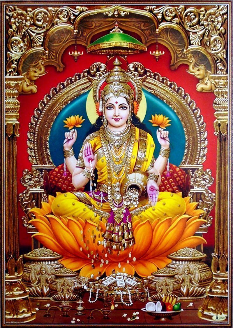 Lakshmi Maa Wallpapers Top Free Lakshmi Maa Backgrounds Wallpaperaccess