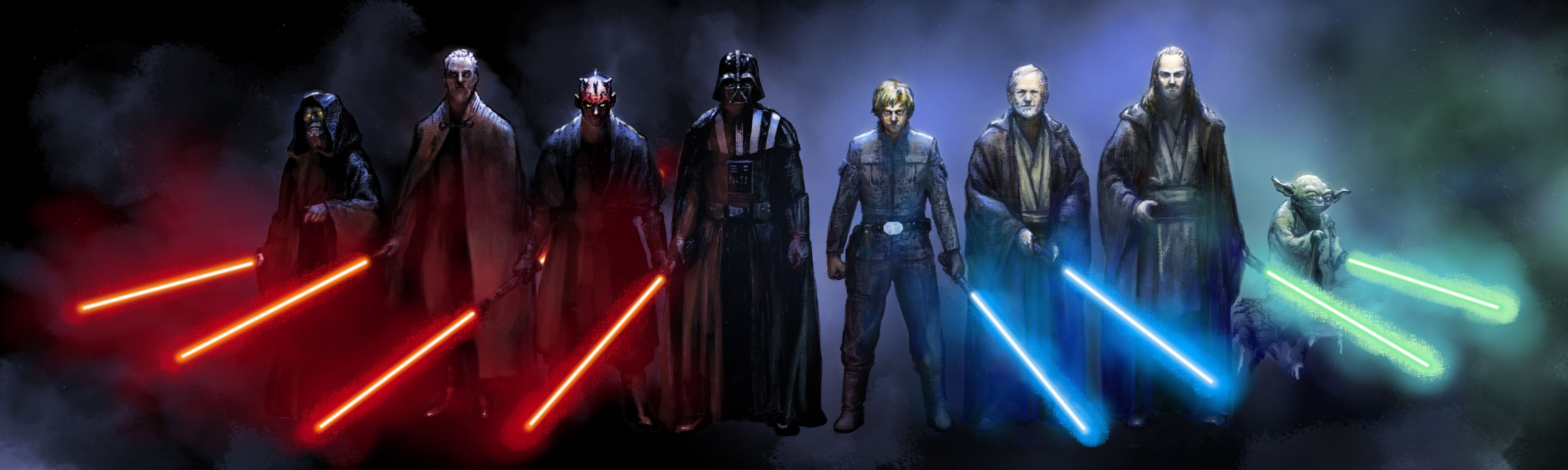 Jedi Vs Sith Wallpapers Top Free Jedi Vs Sith Backgrounds Wallpaperaccess