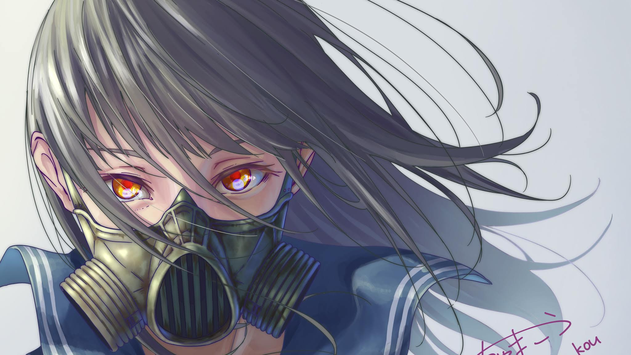 Mask Anime Girl Wallpapers - Top Free Mask Anime Girl Backgrounds