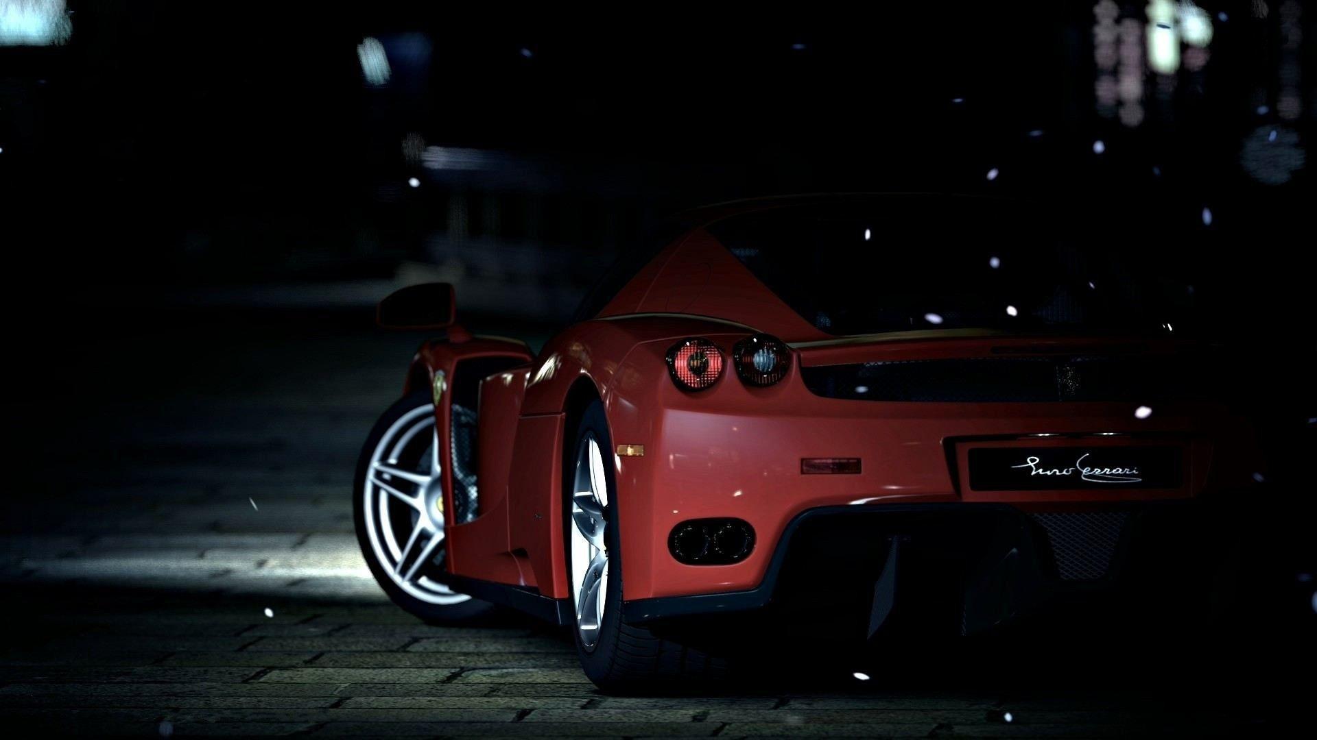 Dark Ferrari Wallpapers Top Free Dark Ferrari Backgrounds Wallpaperaccess