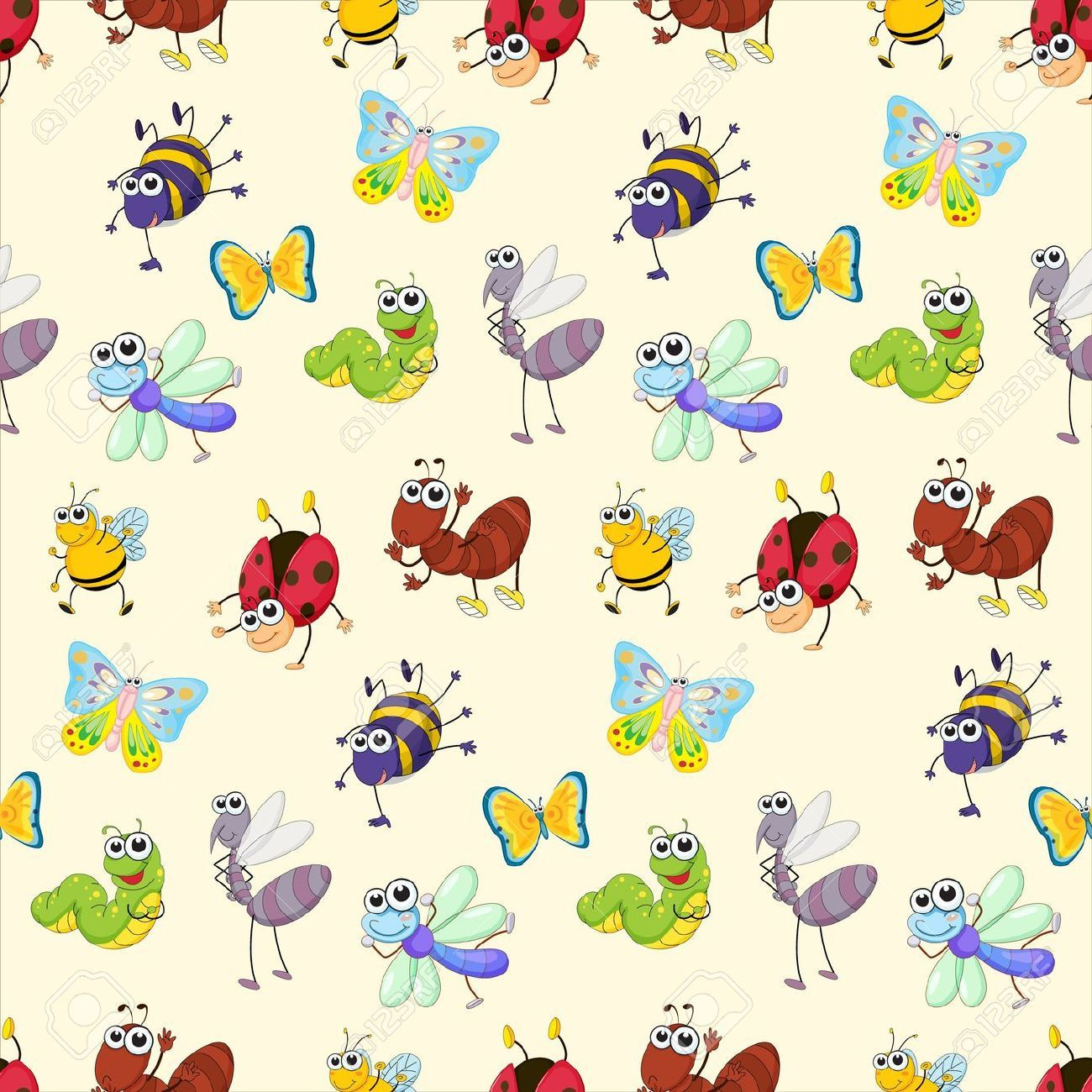 Top Free Cute Bug Backgrounds