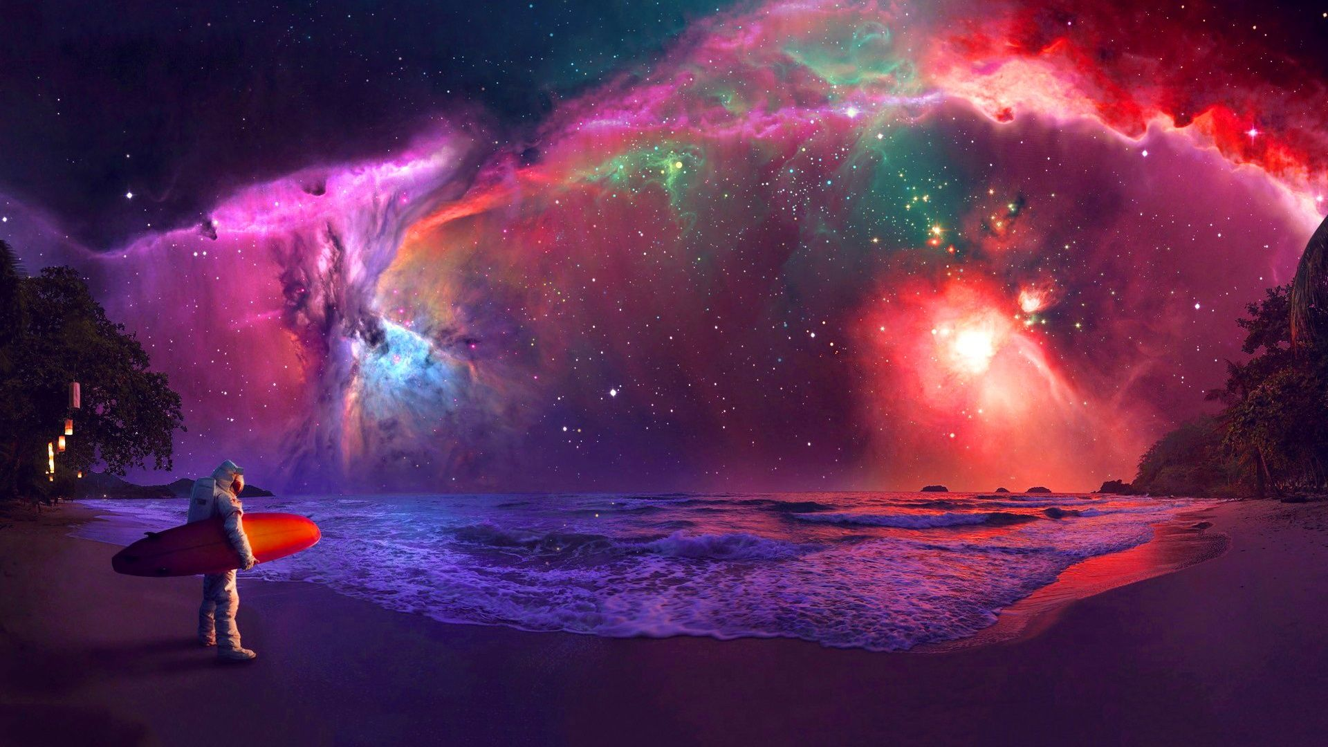 Trippy Astronaut In Space Wallpapers Top Free Trippy Astronaut