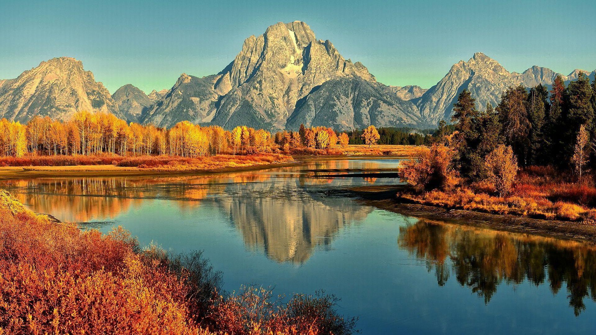 Autumn Mountain Wallpapers Top Free Autumn Mountain Backgrounds Wallpaperaccess