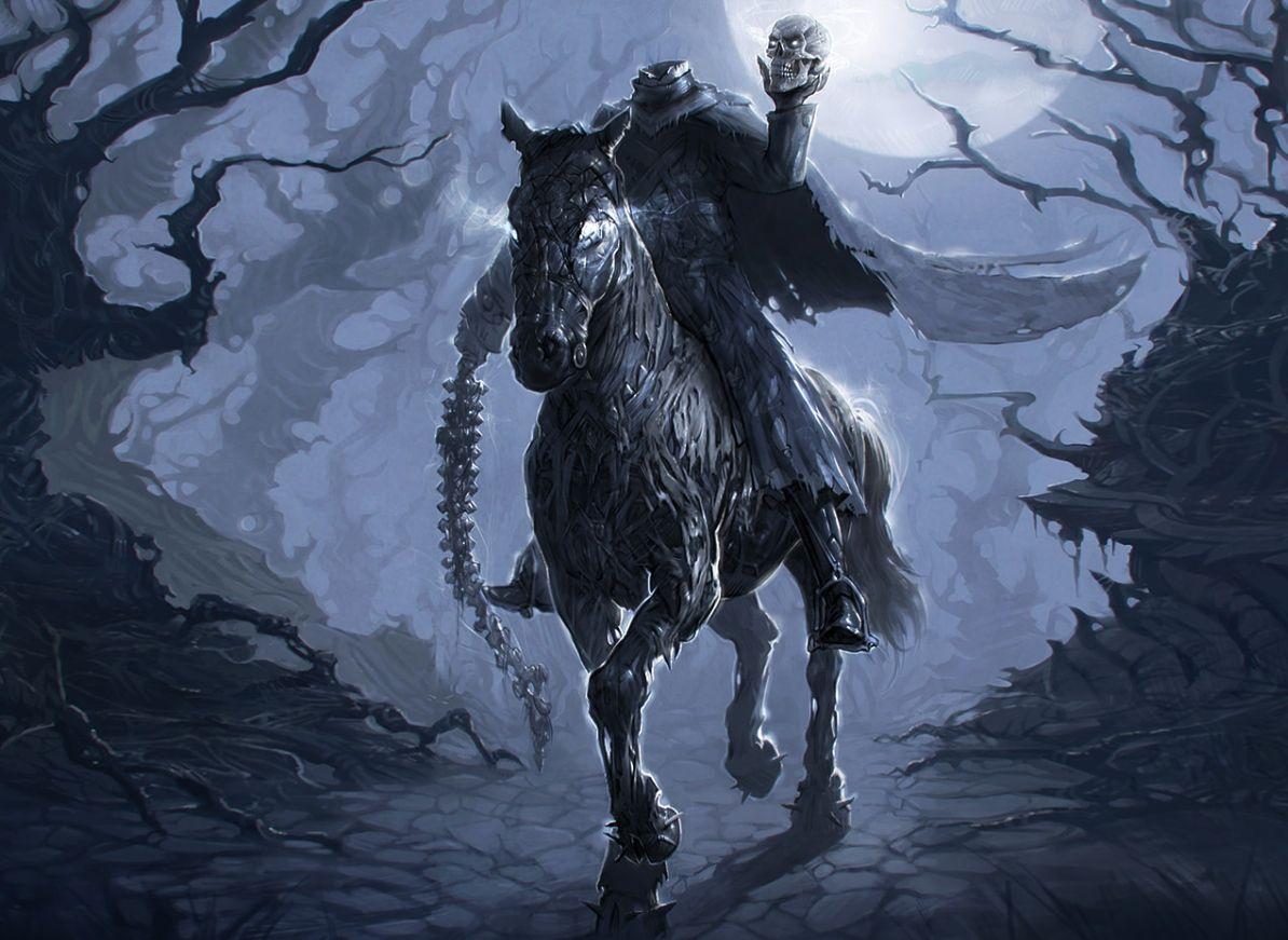 Headless Horseman Wallpapers Top Free Headless Horseman Backgrounds Wallpaperaccess