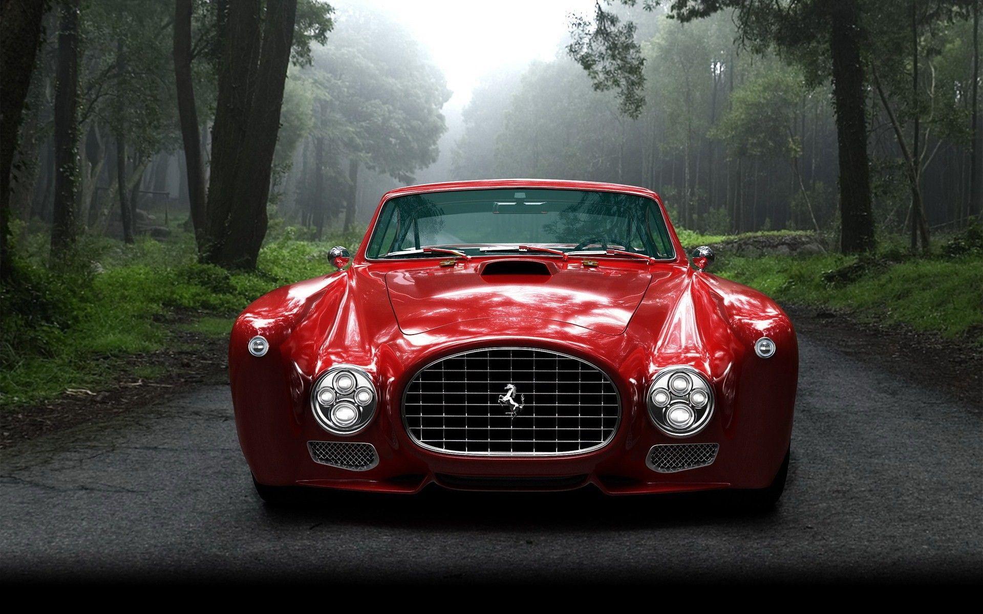 Vintage Ferrari Wallpapers Top Free Vintage Ferrari Backgrounds Wallpaperaccess