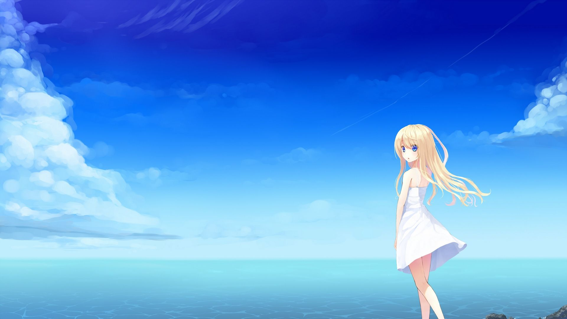 Anime Sea Wallpapers Top Free Anime Sea Backgrounds