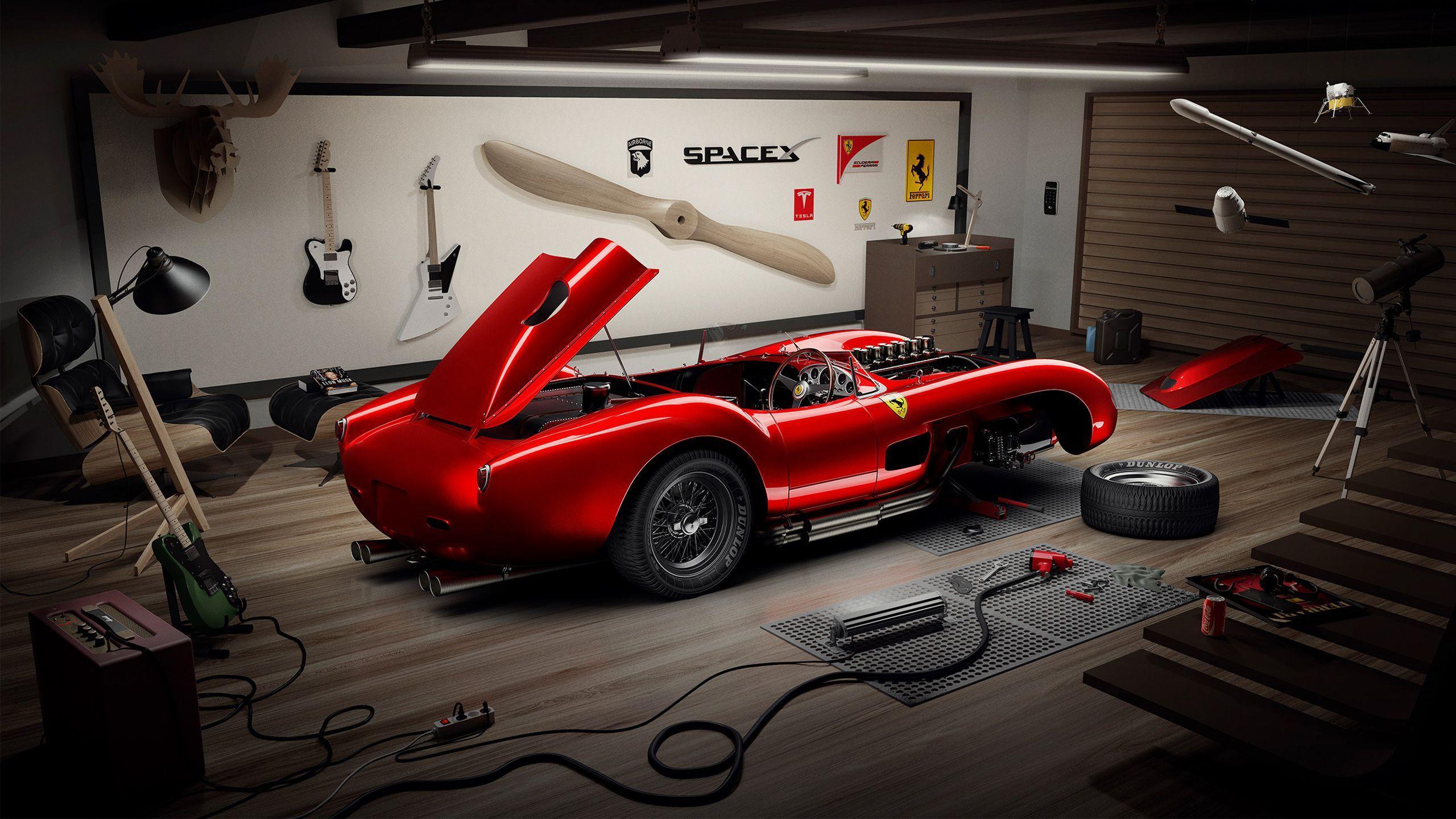 36 Best Free Classic Ferrari Wallpapers Wallpaperaccess