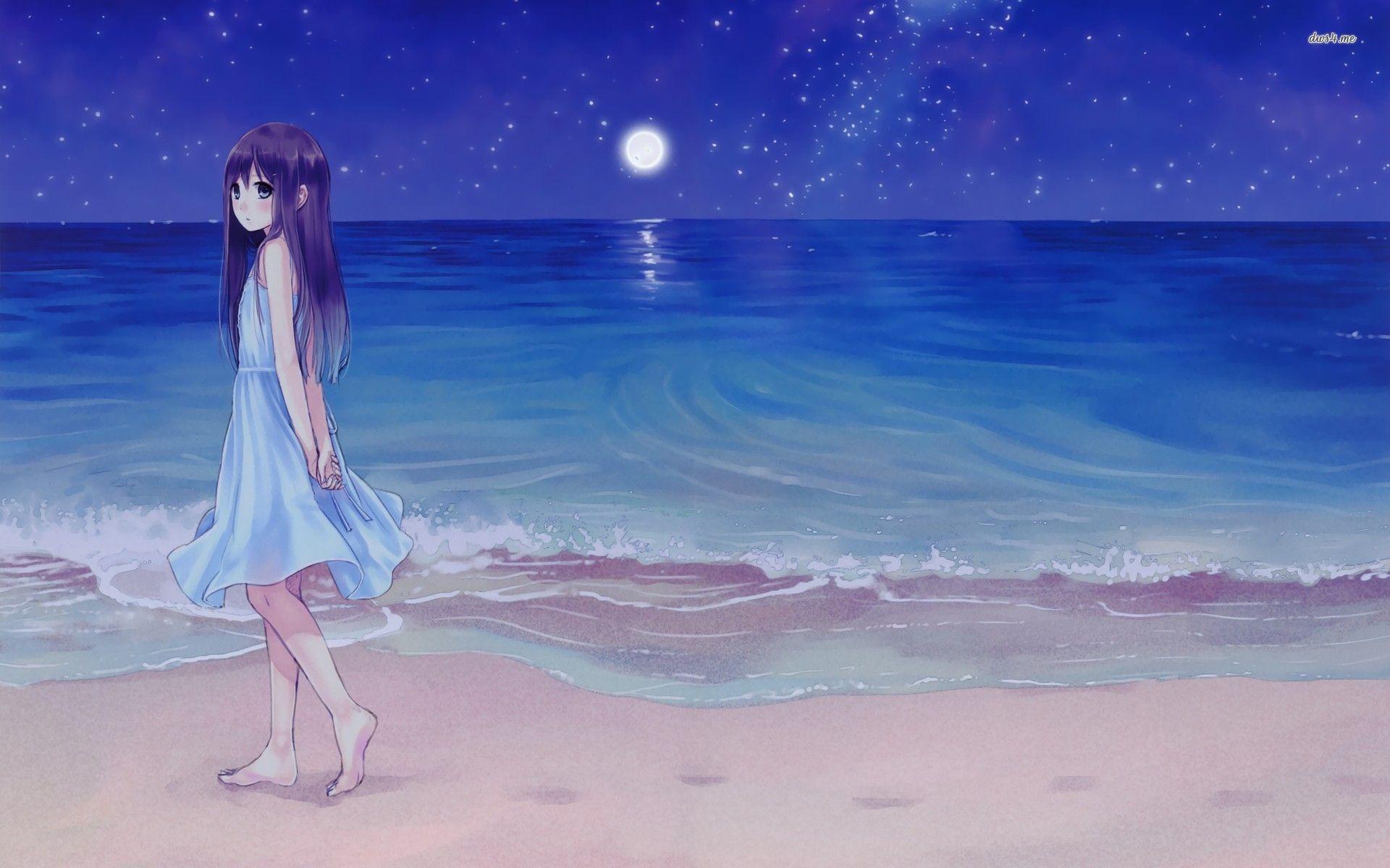 37 Best Free Anime Beach Wallpapers Wallpaperaccess