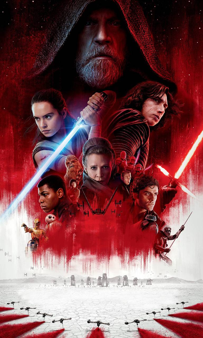 The Last Jedi Iphone Wallpapers Top Free The Last Jedi Iphone Backgrounds Wallpaperaccess