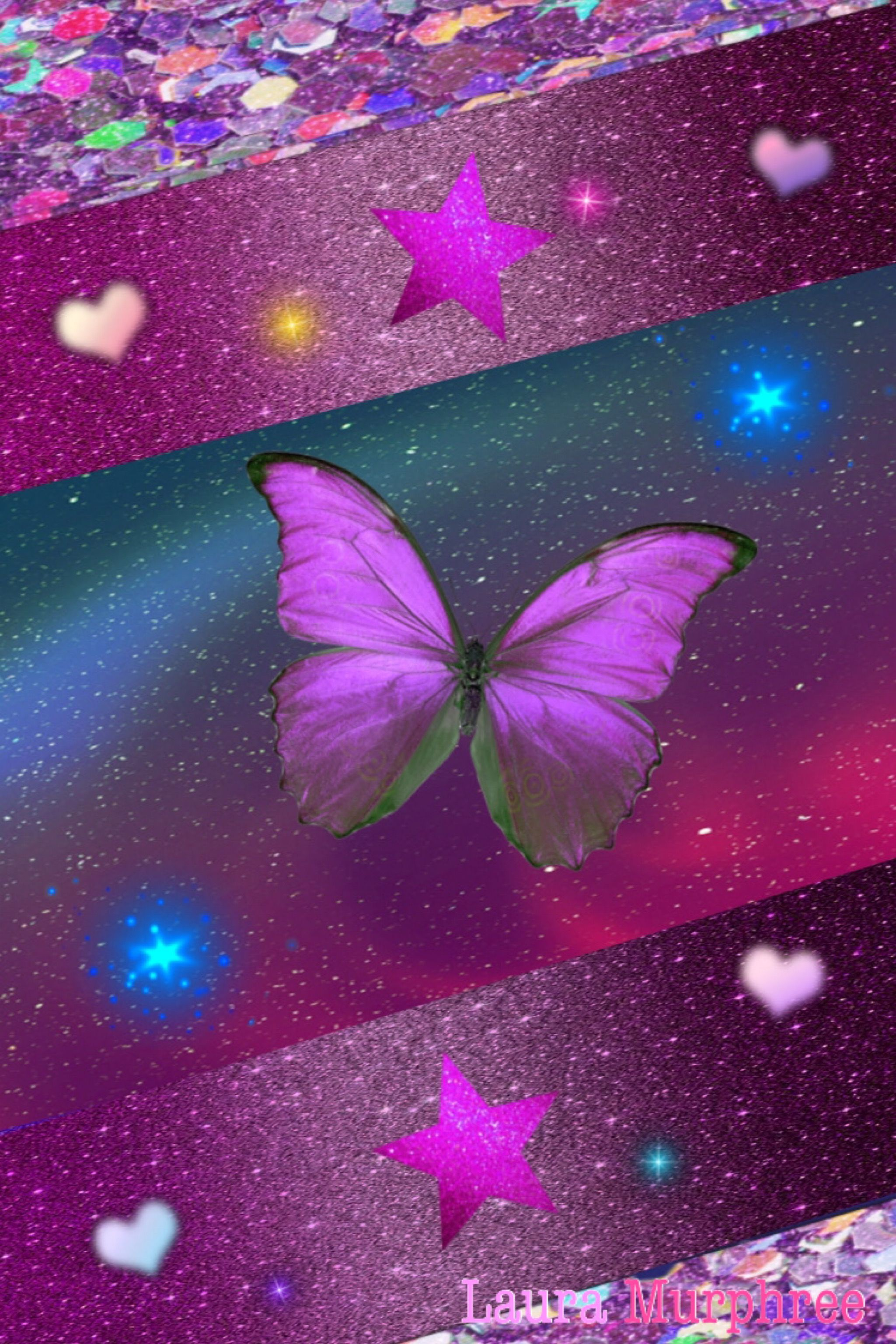 Glitter Butterfly Wallpapers Top Free Glitter Butterfly Backgrounds Wallpaperaccess