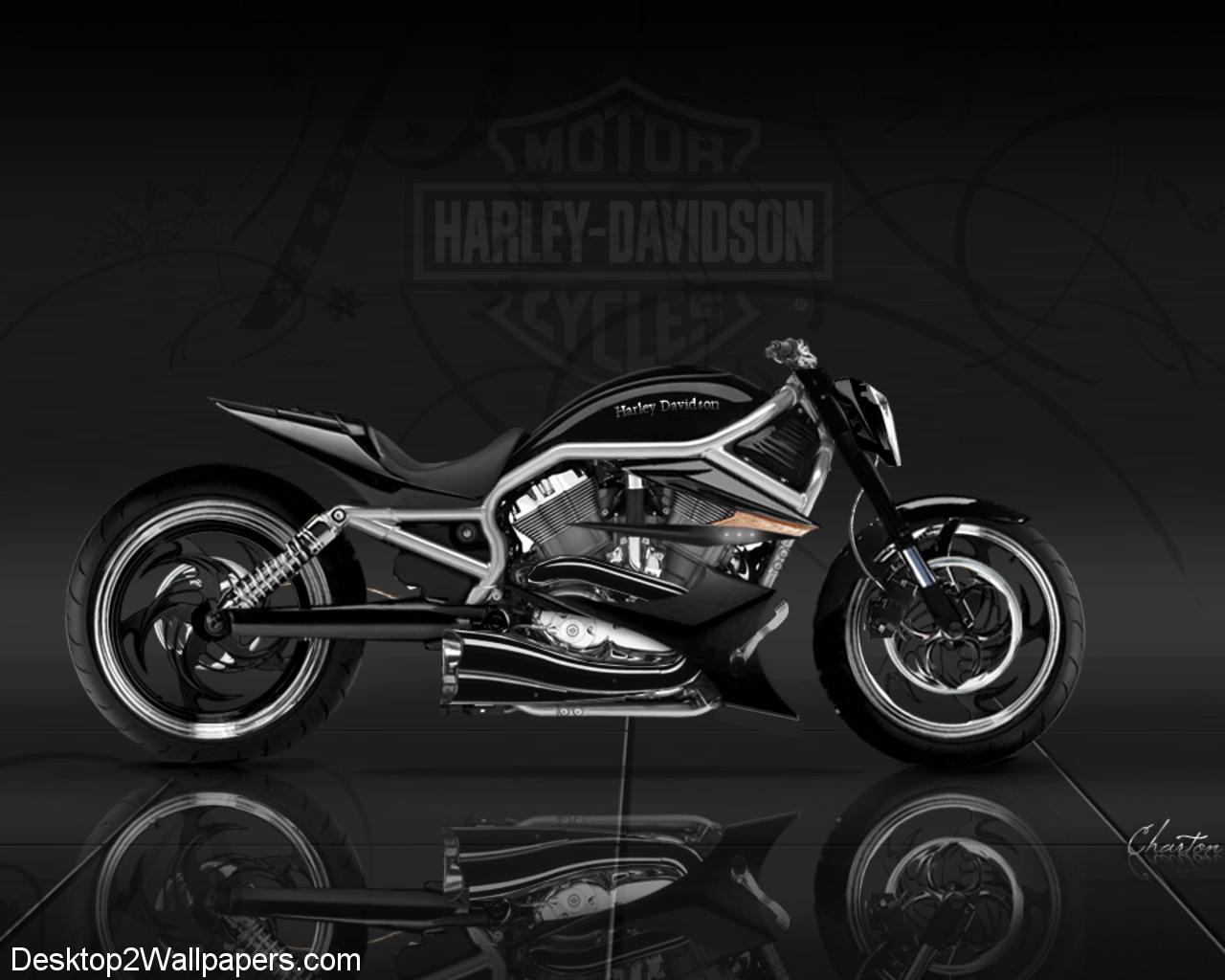 Harley Davidson Black Wallpapers Top Free Harley Davidson Black Backgrounds Wallpaperaccess