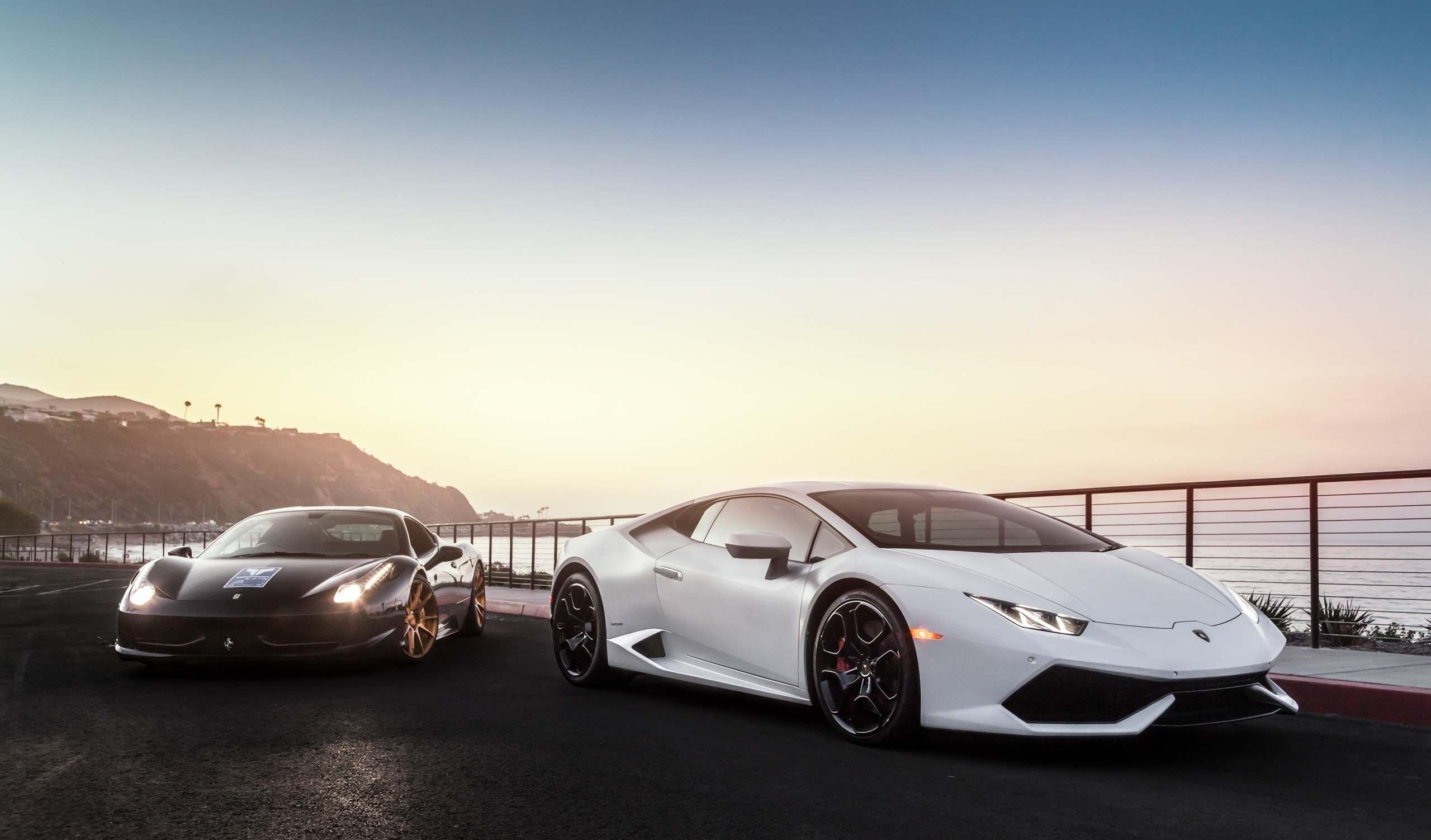 Lamborghini And Ferrari Wallpapers Top Free Lamborghini And Ferrari Backgrounds Wallpaperaccess