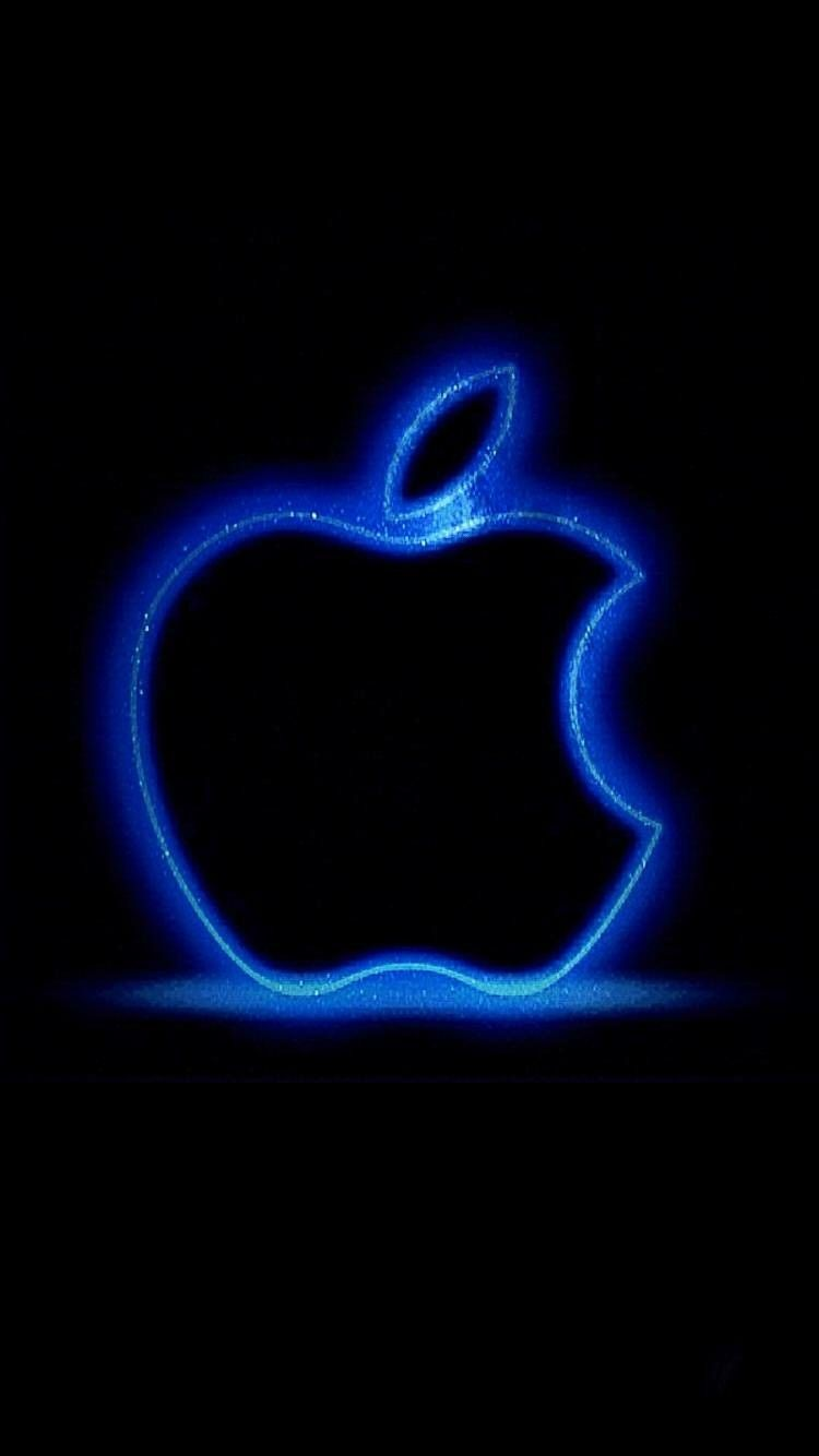 Neon Blue Iphone Wallpapers Top Free Neon Blue Iphone Backgrounds Wallpaperaccess