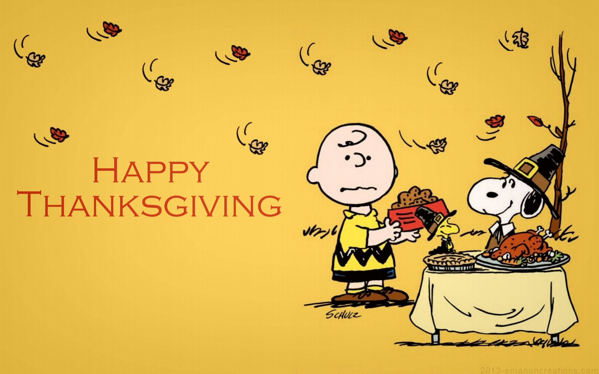 Peanuts Thanksgiving Wallpapers Top Free Peanuts Thanksgiving Backgrounds Wallpaperaccess