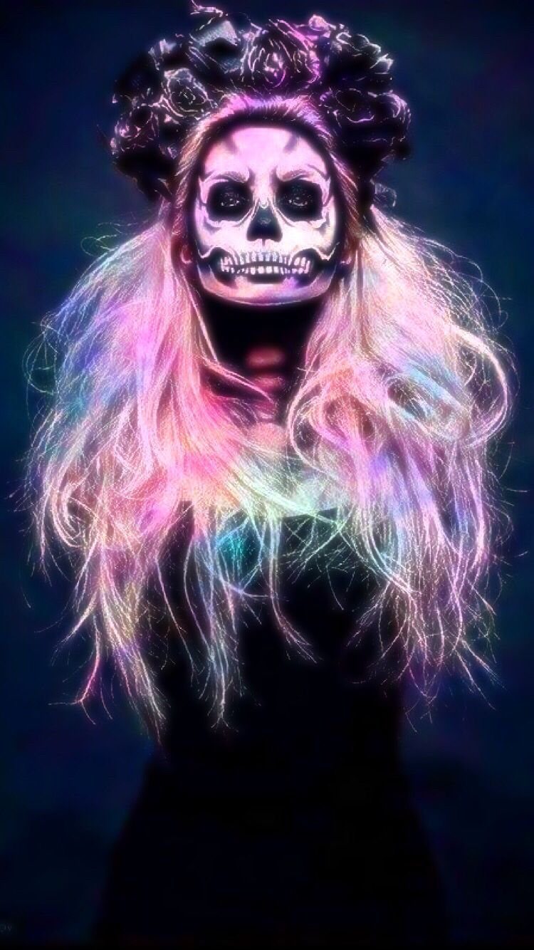 Girly Skull Wallpapers Top Free Girly Skull Backgrounds