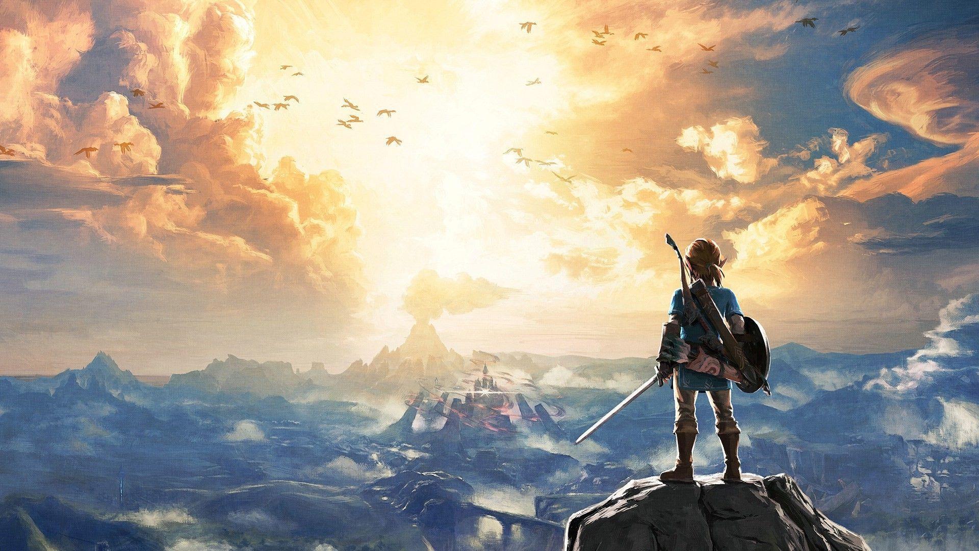 Legend of Zelda BOTW Wallpapers - Top Free Legend of Zelda ...
