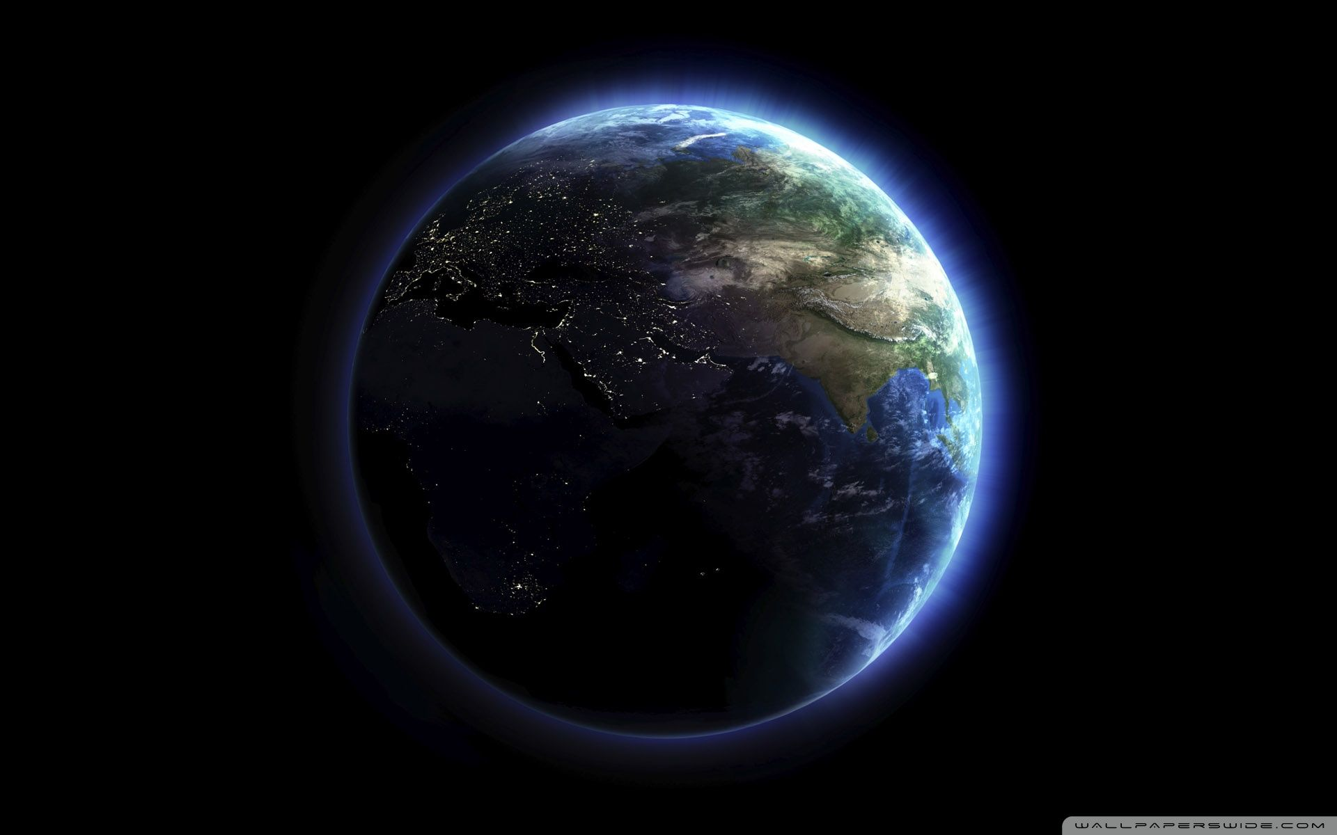 Earth Lights Wallpapers Top Free Earth Lights Backgrounds Wallpaperaccess