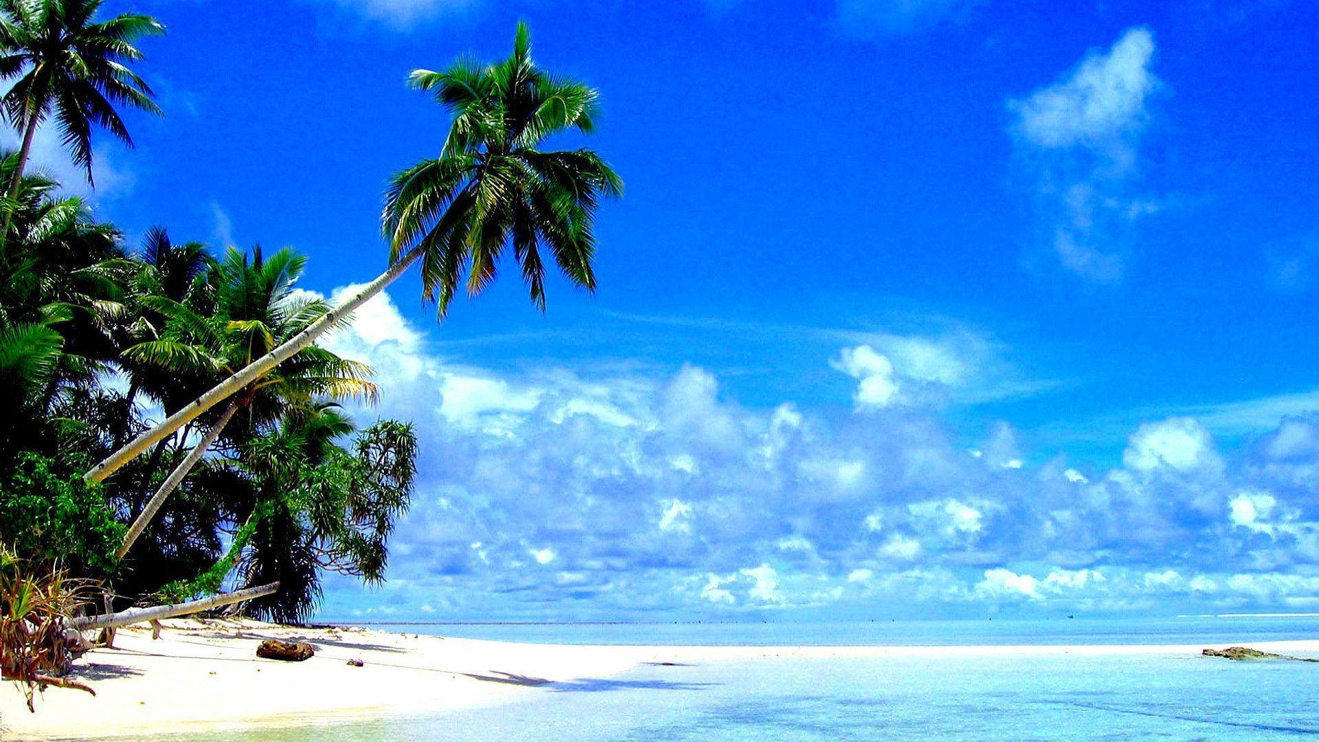 Tropical Island Beach Landscape Wallpaper: Tropical Beach Landscape Wallpapers