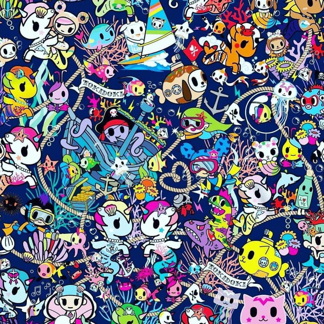 Tokidoki Unicorno Wallpapers