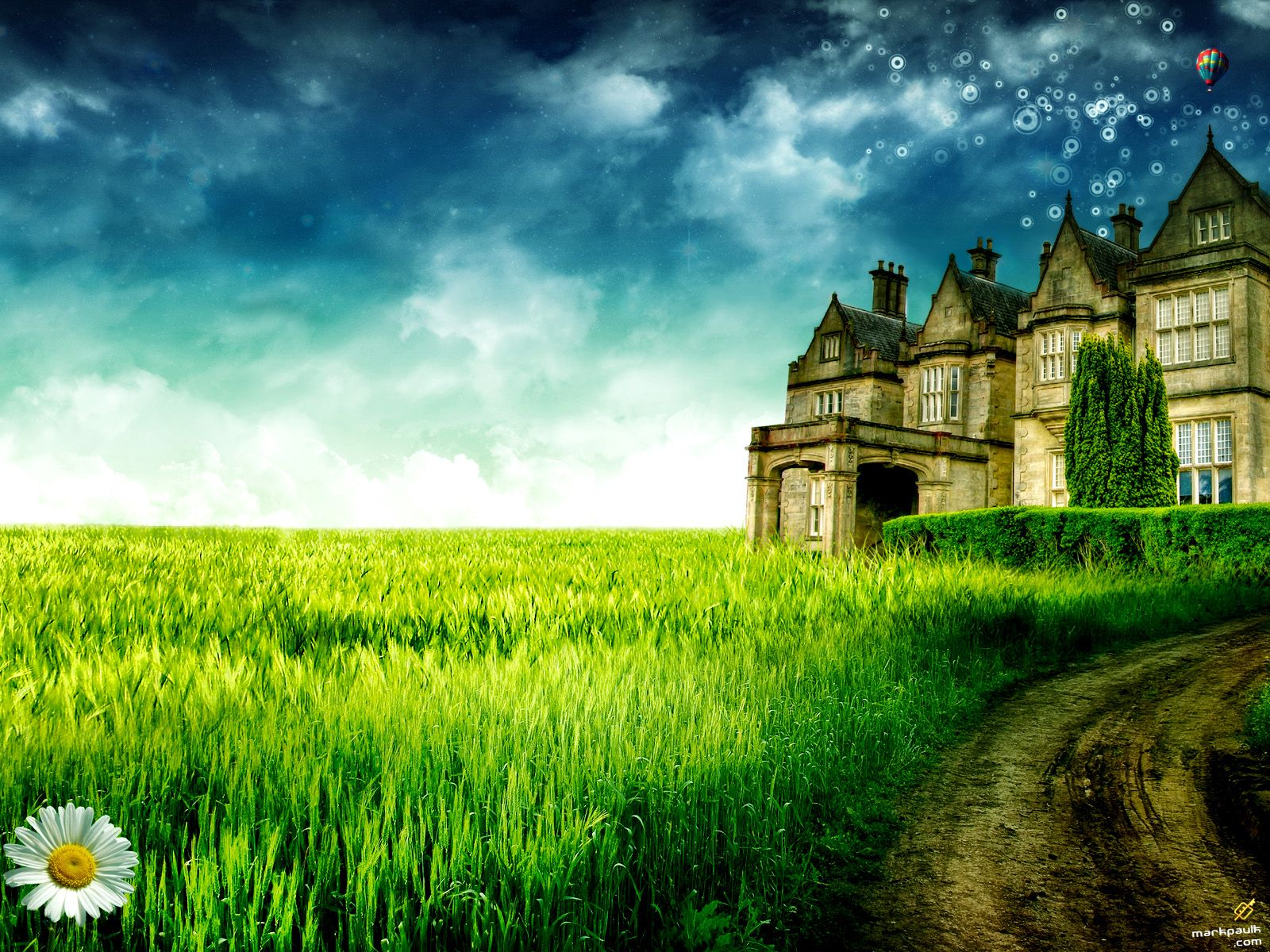 Nature wallpaper house images download