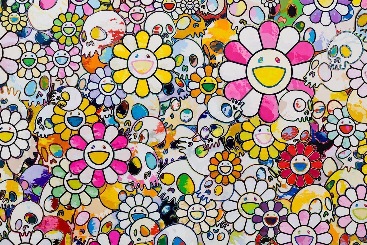 Takashi Murakami Flower Wallpapers - Top Free Takashi ...