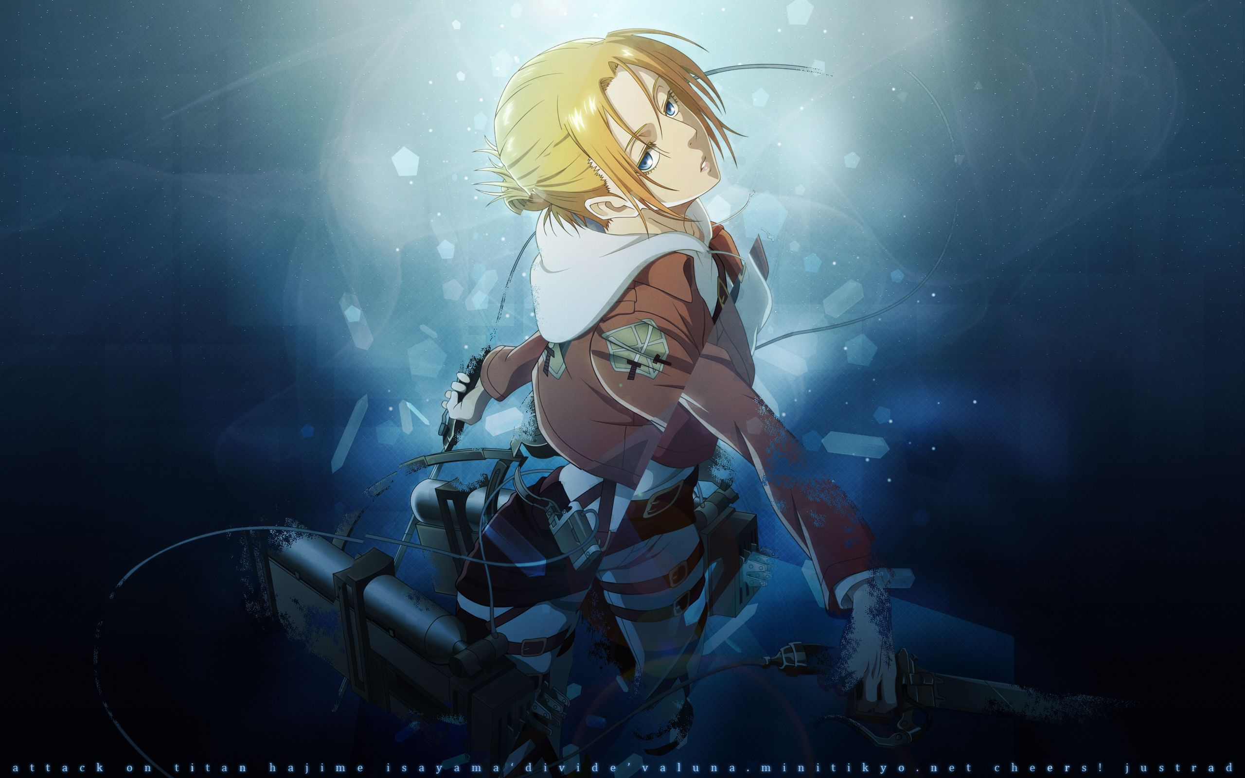 Annie Attack On Titan Wallpapers Top Free Annie Attack On Titan Backgrounds Wallpaperaccess