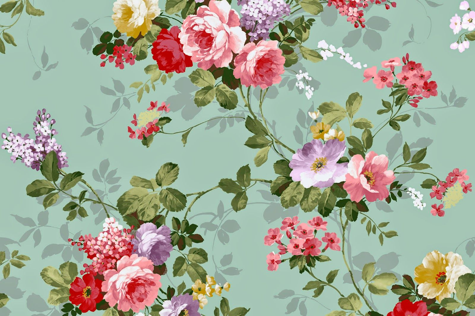 Vintage Floral Wallpapers Top Free Vintage Floral Backgrounds