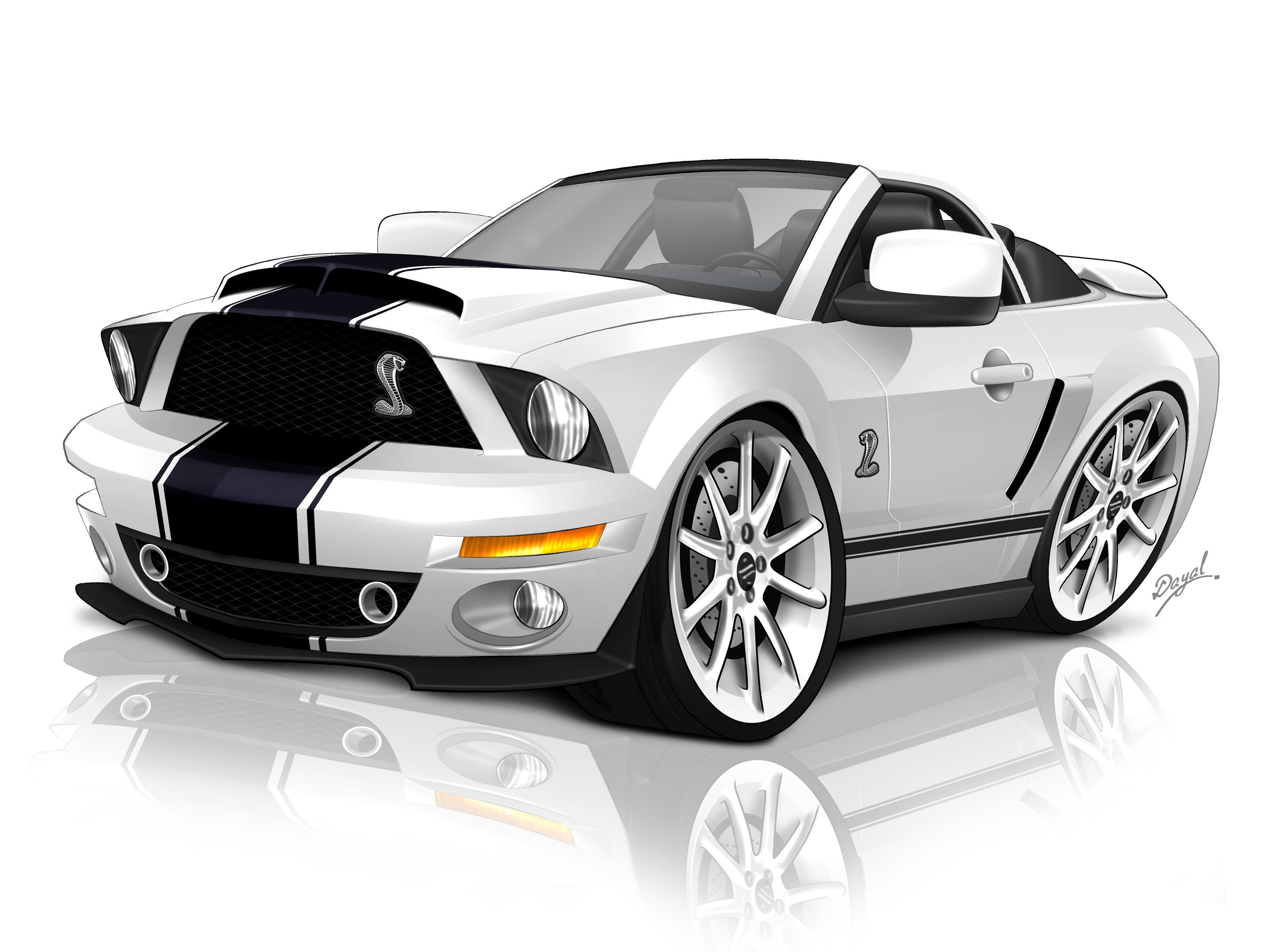 Cartoons Muscle Car Wallpapers Top Free Cartoons Muscle Car