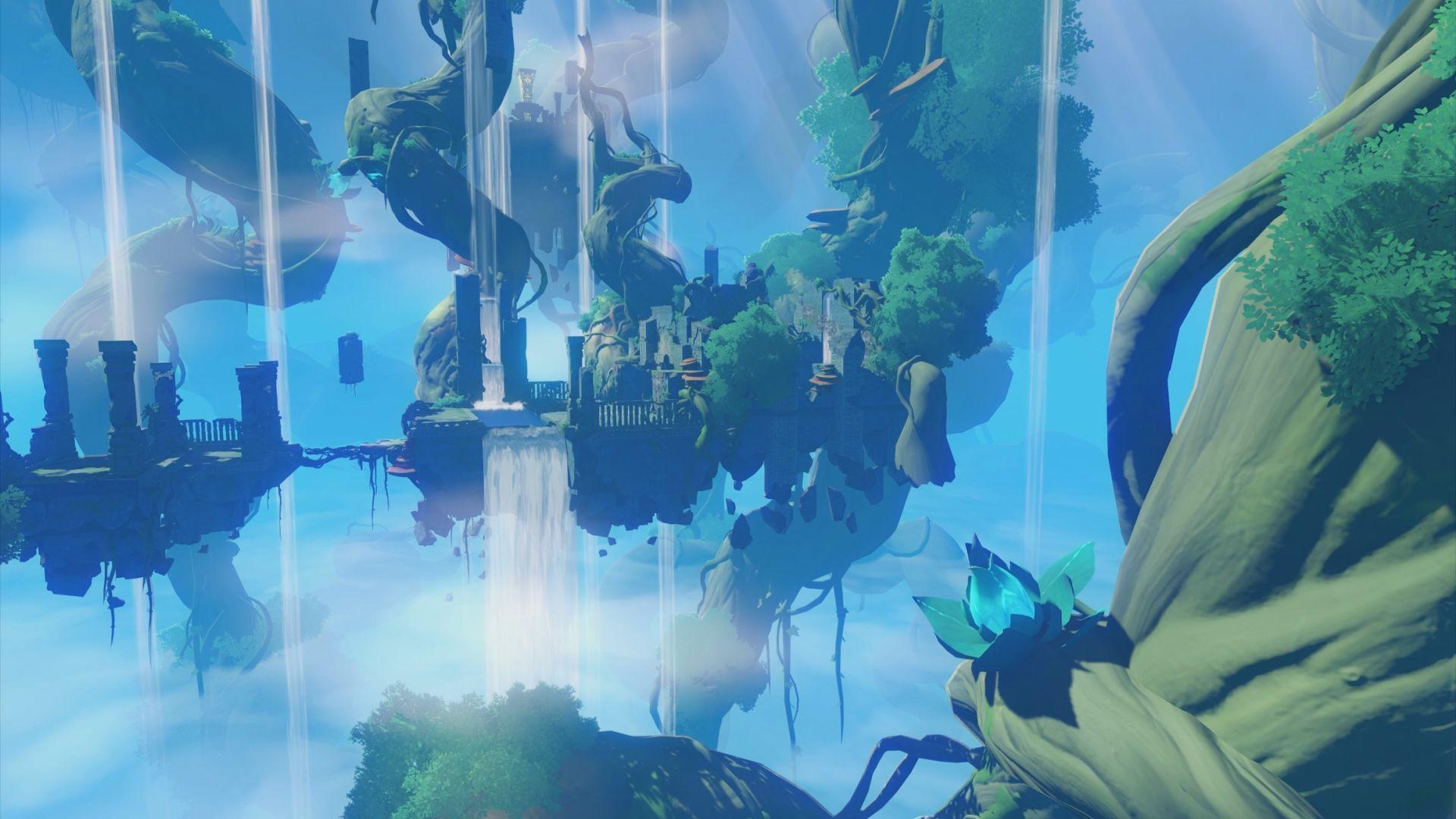 1920x1080 Cuộc phiêu lưu thế giới mở Genshin Impact sẽ đến với PS4 vào năm sau - PlayStation.Blog