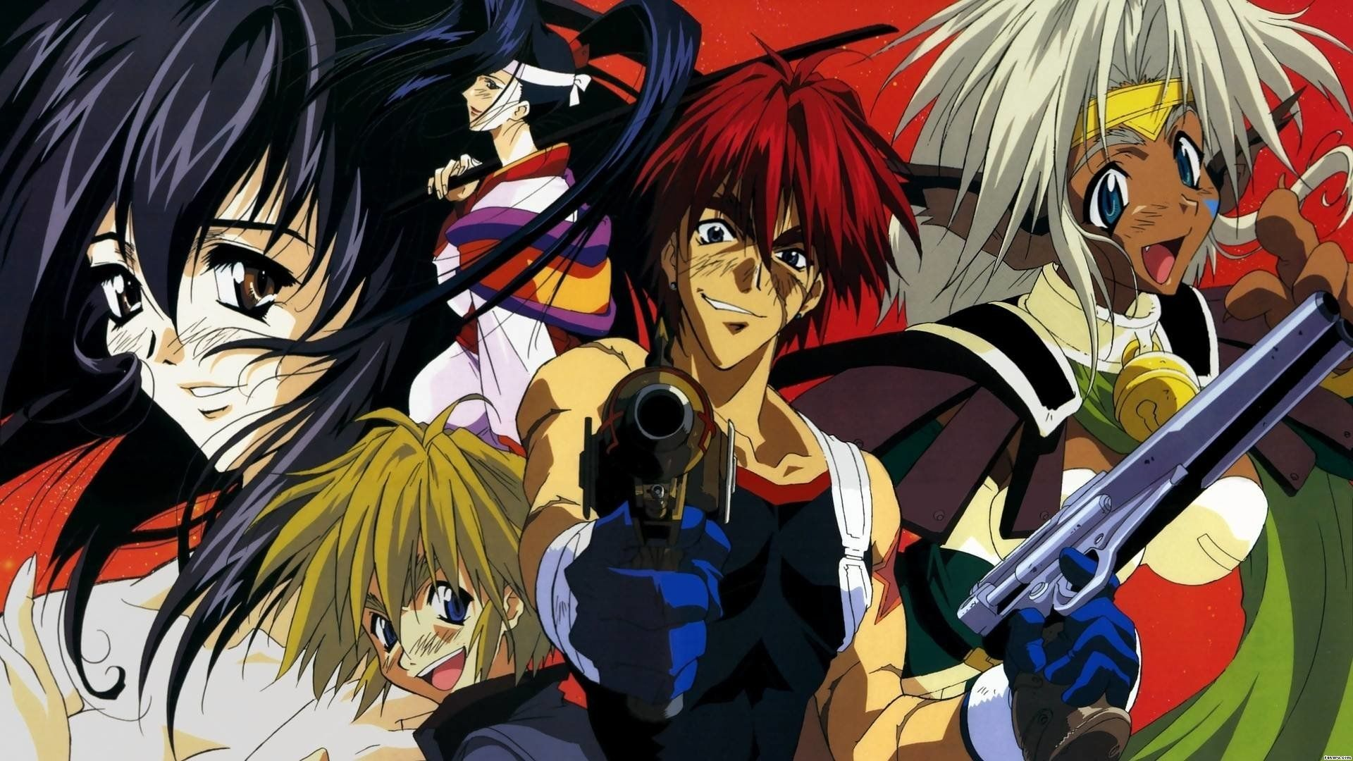 Outlaw Star - Best fantasy anime you should watch today