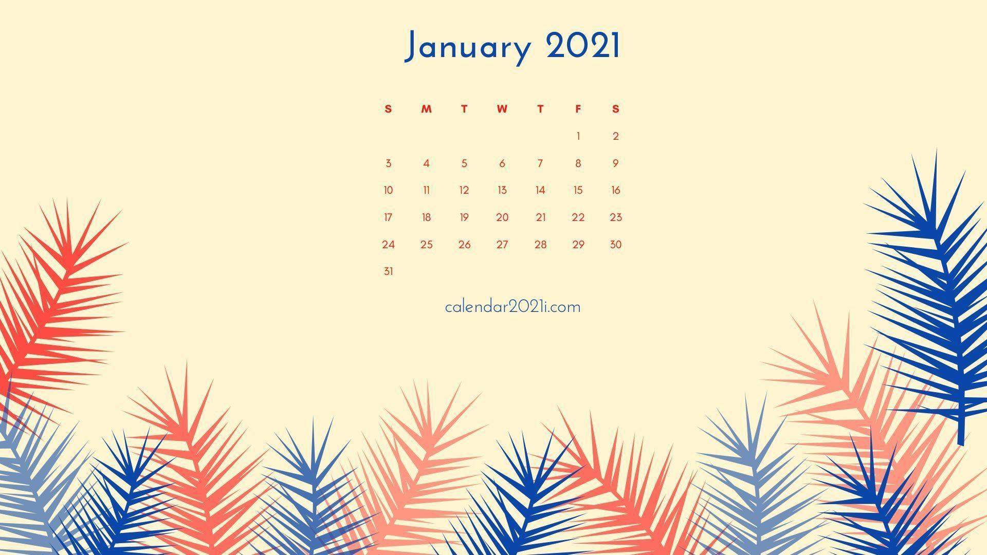 Monthly Calendar Wallpaper 2021 Wallpaper
