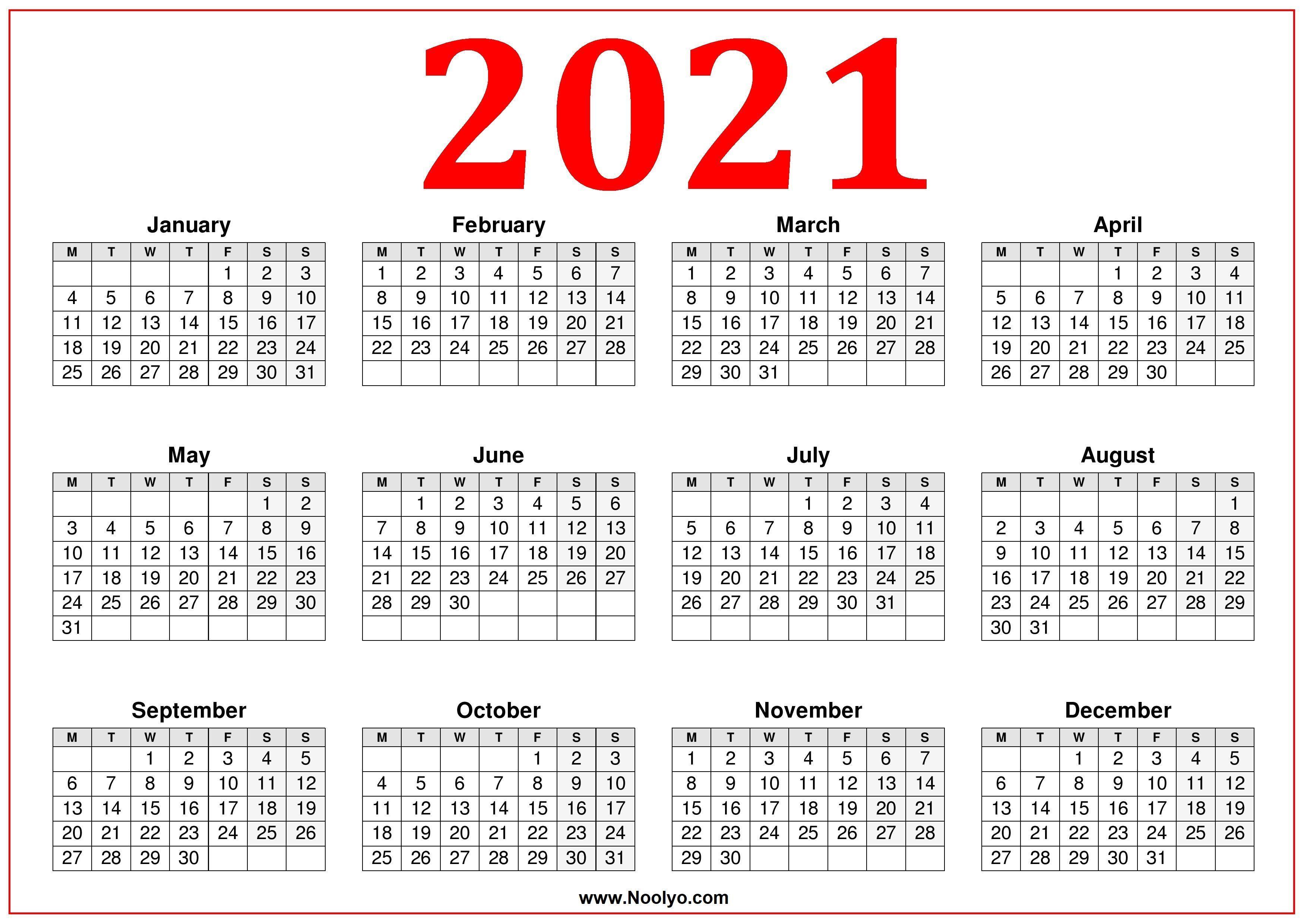 2021 Calendar Wallpapers - Top Free 2021 Calendar ...