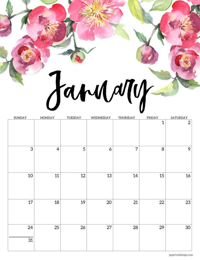 January 2021 Calendar Wallpapers - Top Free January 2021 ...