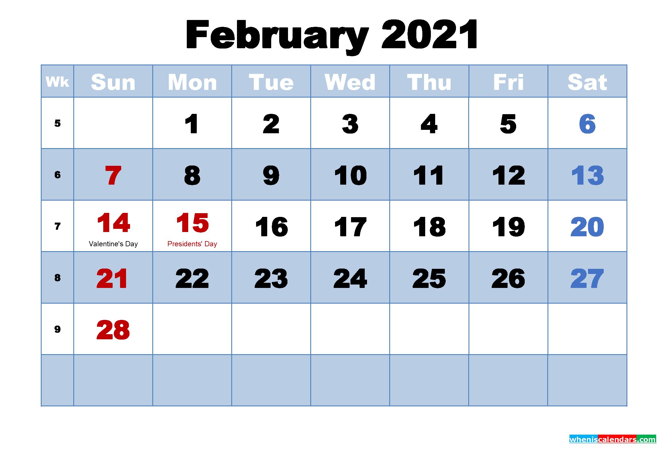 February 2021 Calendar Wallpapers Top Free February 2021 Calendar Backgrounds Wallpaperaccess