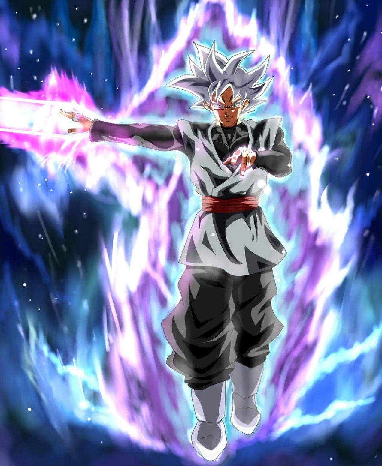 Ultra Instinct Goku Black Wallpapers Top Free Ultra Instinct Goku Black Backgrounds Wallpaperaccess
