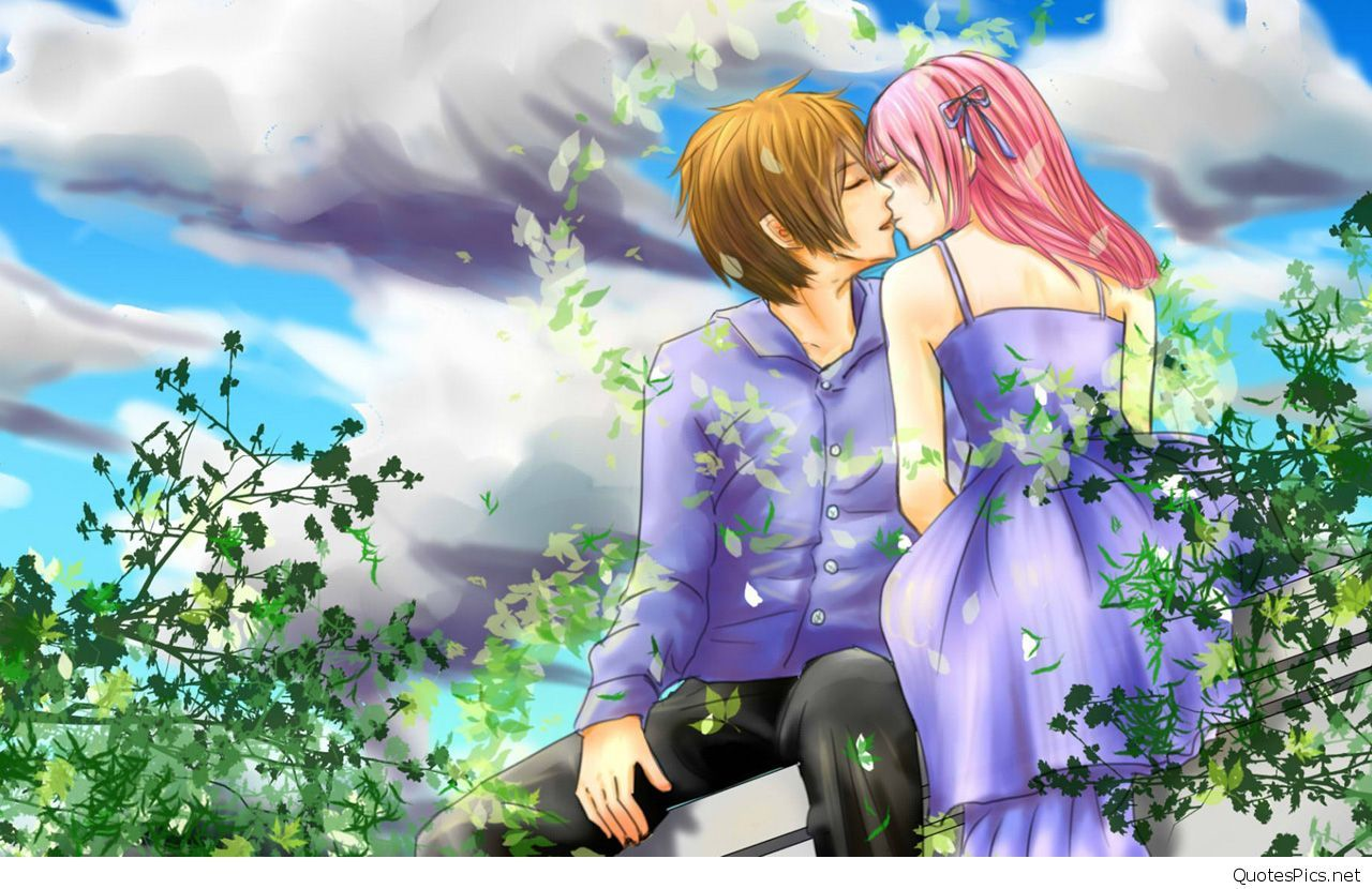 71 Best Free Love Anime Wallpapers Wallpaperaccess