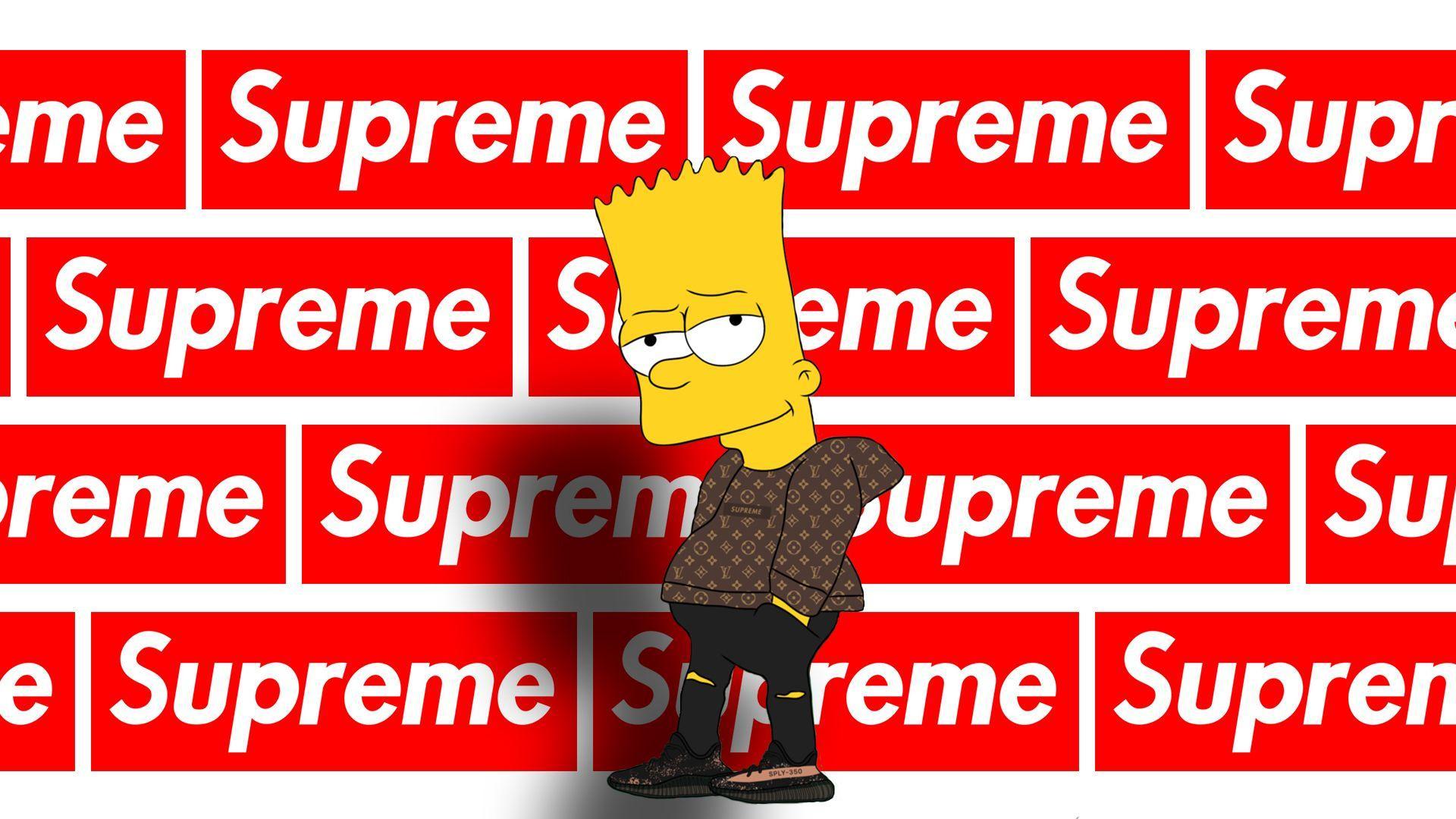 Supreme Bart Wallpapers Top Free Supreme Bart Backgrounds