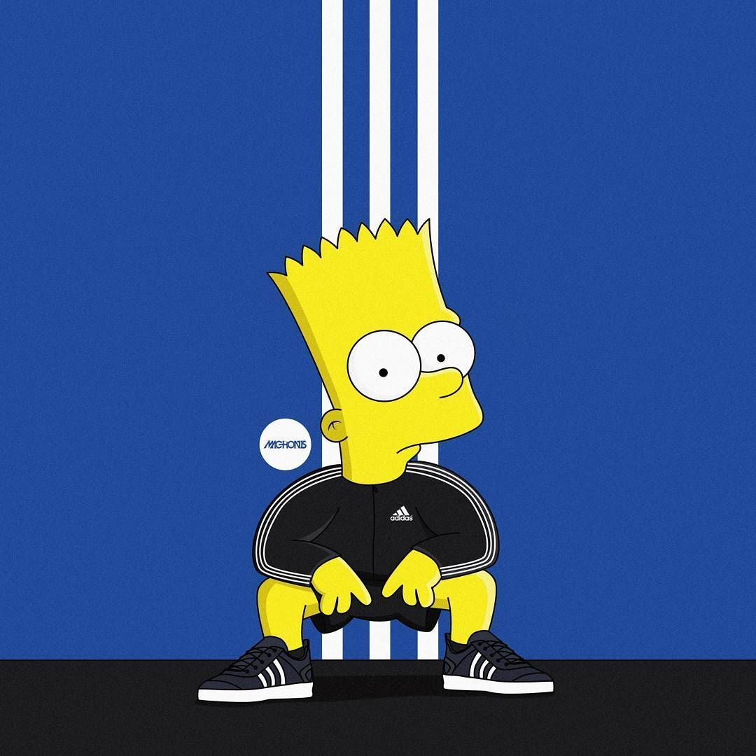 53 Best Free Supreme Bart Simpson Wallpapers - WallpaperAccess