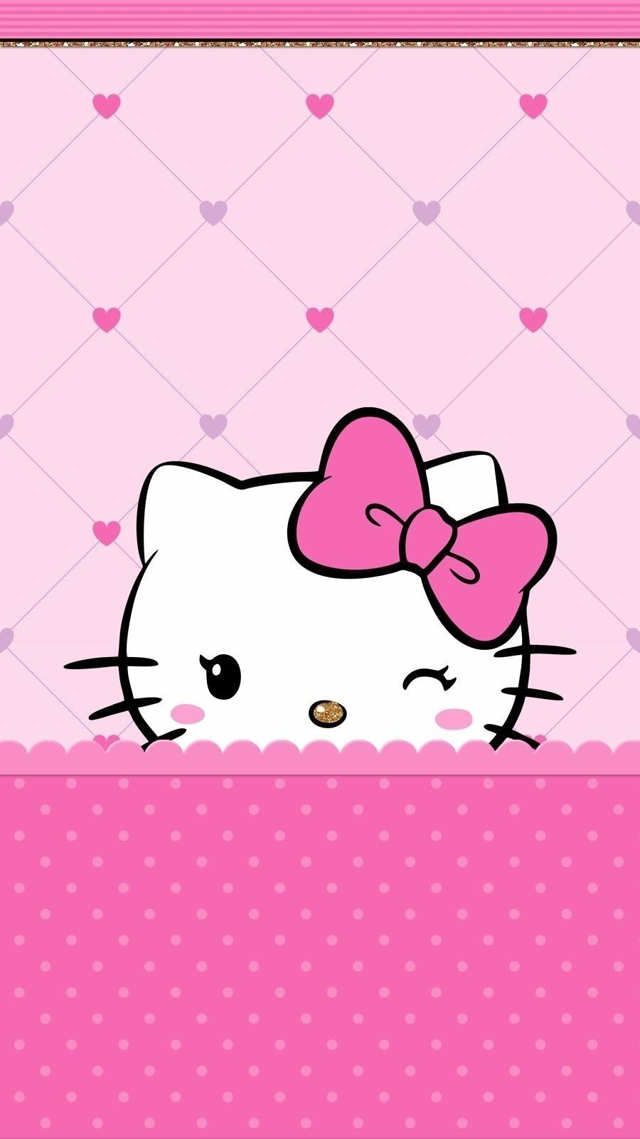 Hello Kitty Pink Iphone Wallpapers Top Free Hello Kitty Pink Iphone Backgrounds Wallpaperaccess