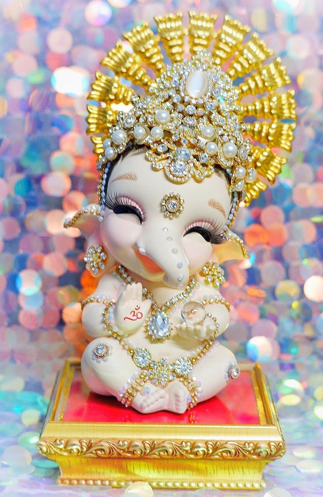 Cute Ganesha Wallpapers Top Free Cute Ganesha Backgrounds Wallpaperaccess