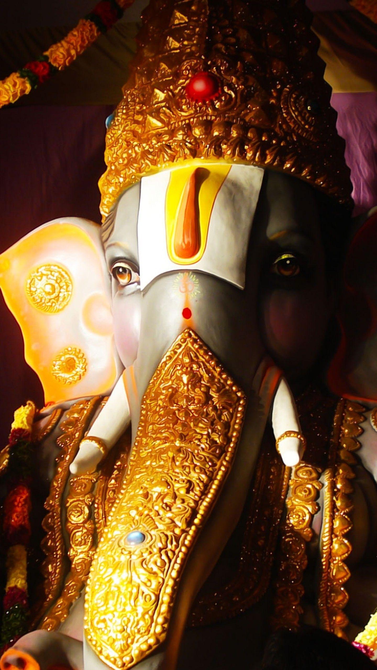 1440x2560 Hình nền Chúa Ganesha, Ganapati, Vinayaka, Thần Hindu, Độ phân giải cao, Lễ kỷ niệm ,.  Hình nền cho iPhone, Android, Di động và Máy tính để bàn