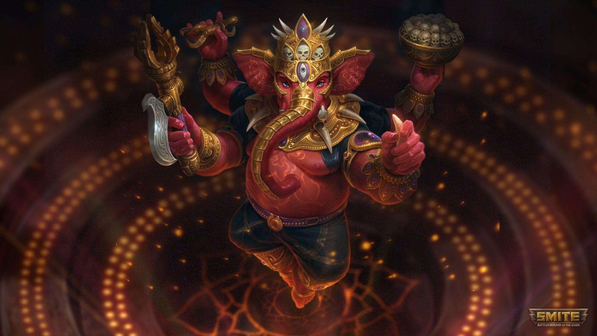 1920x1080 Lord Ganesha 4K hình nền