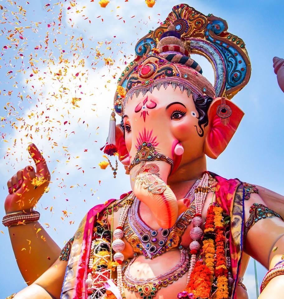 Hình nền Ganesha 912x960 dành cho Android