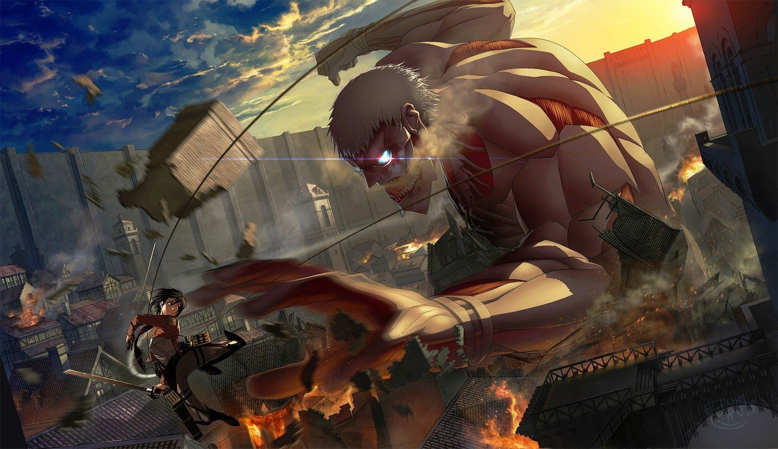 Attack On Titan Anime Wallpapers Top Free Attack On Titan Anime