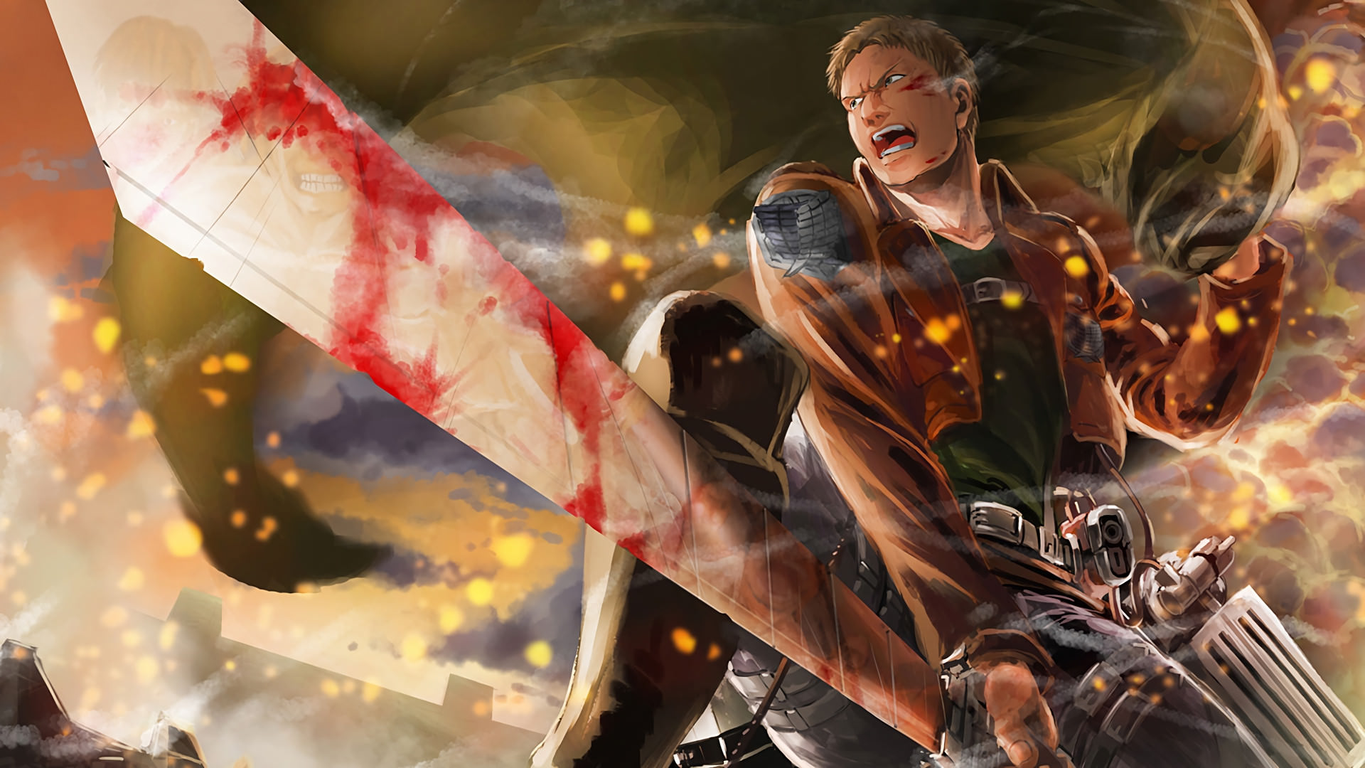 Attack On Titan Wallpapers Top Free Attack On Titan Backgrounds