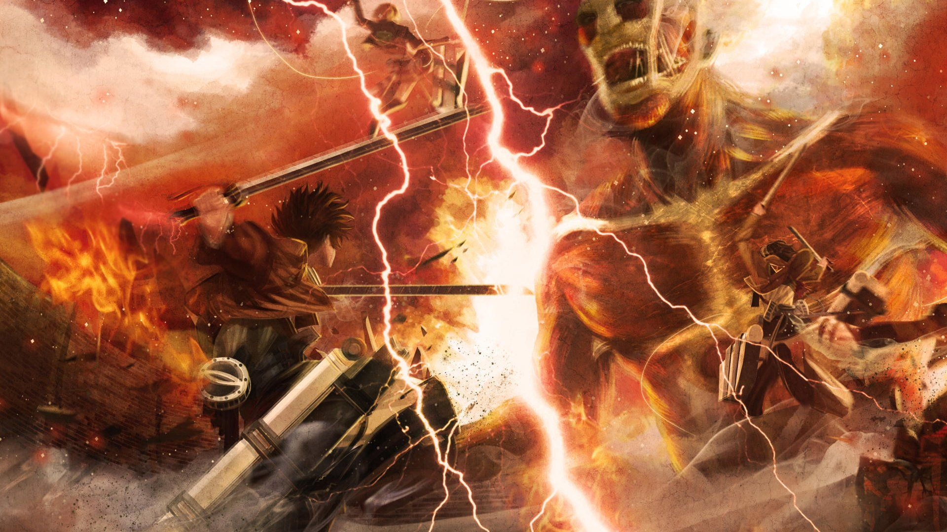 Attack On Titan Wallpapers Top Free Attack On Titan