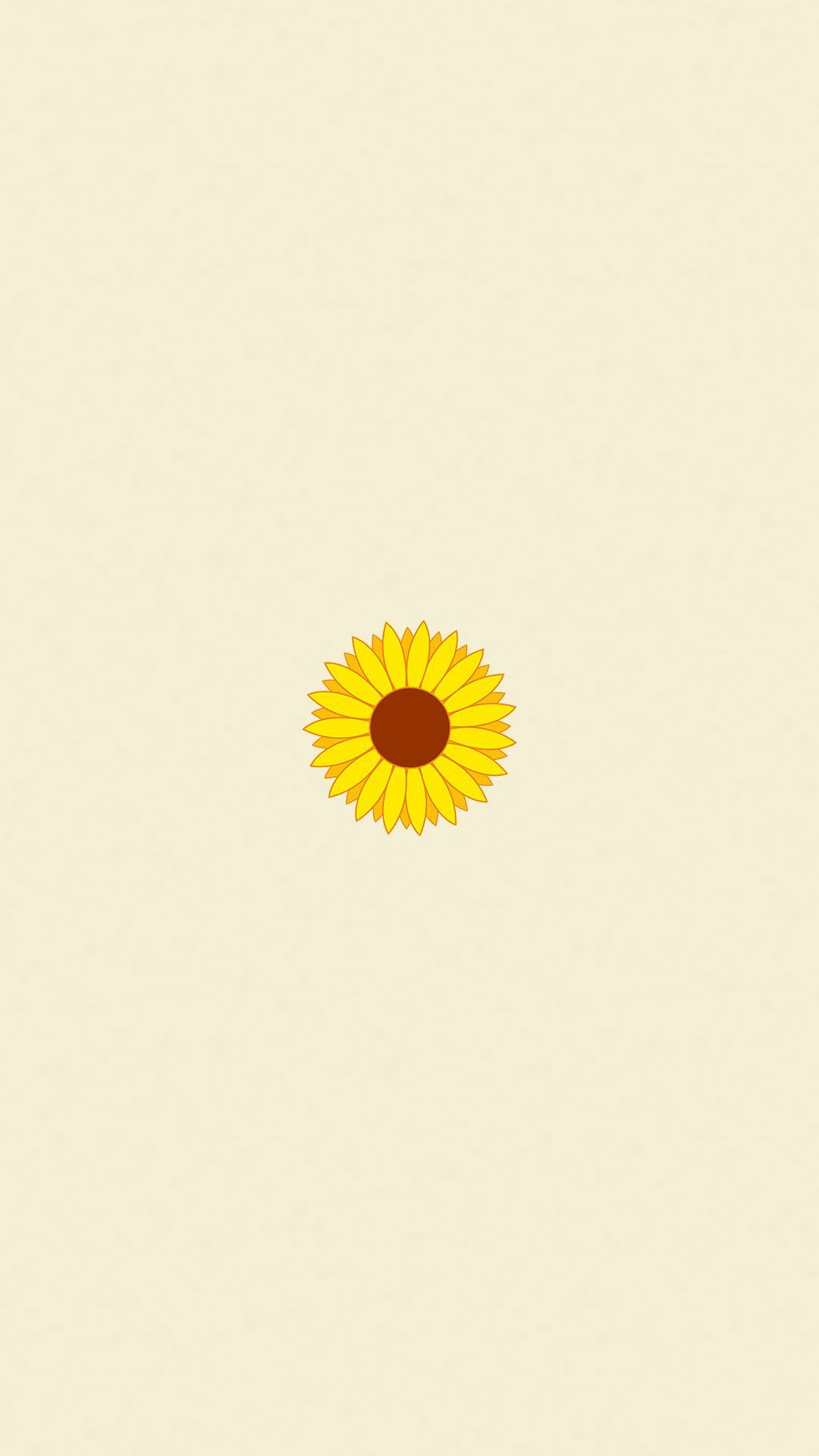 Sunflower Minimalist Wallpapers - Top Free Sunflower ...