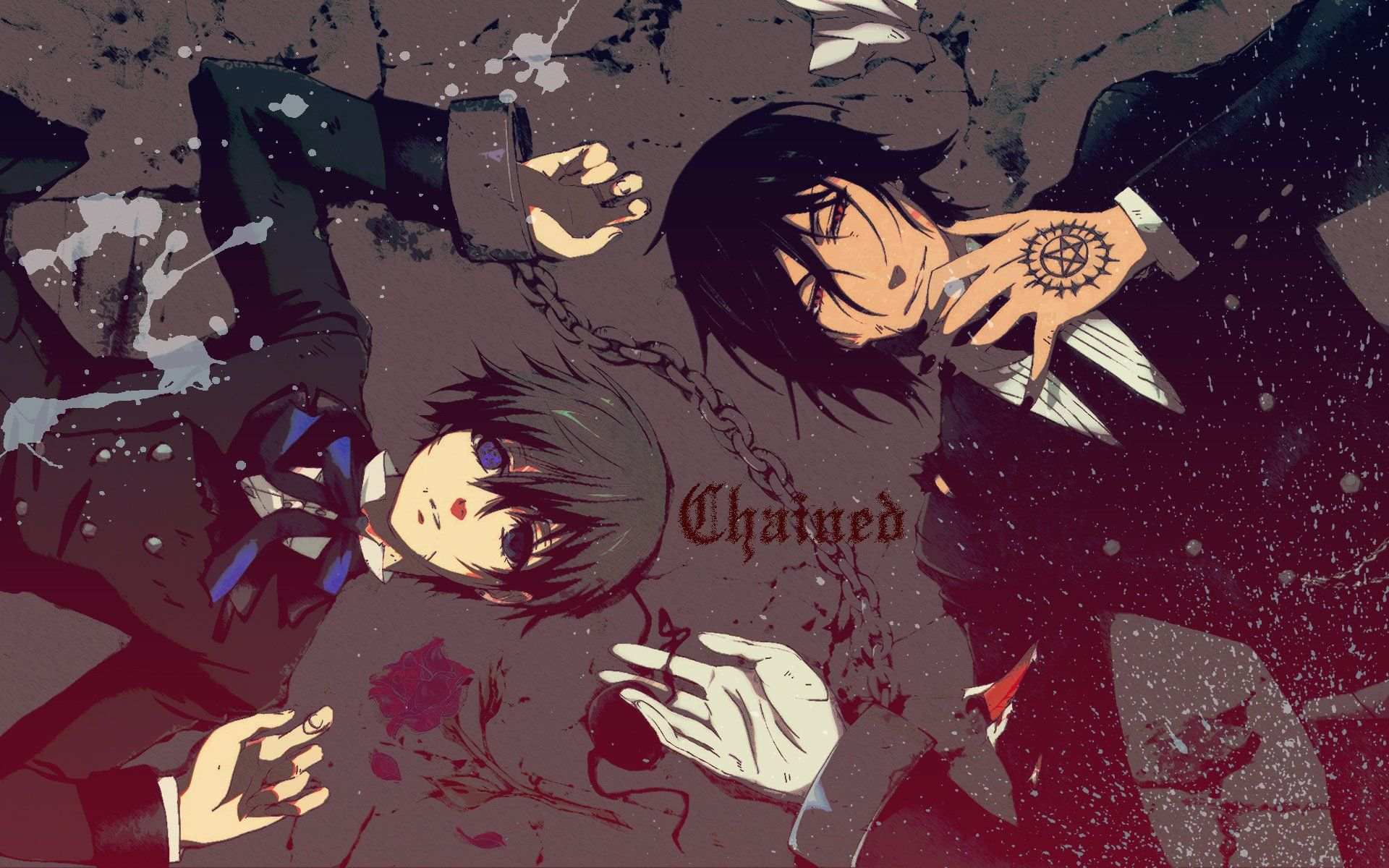 Black Butler Hd Wallpapers Top Free Black Butler Hd Backgrounds