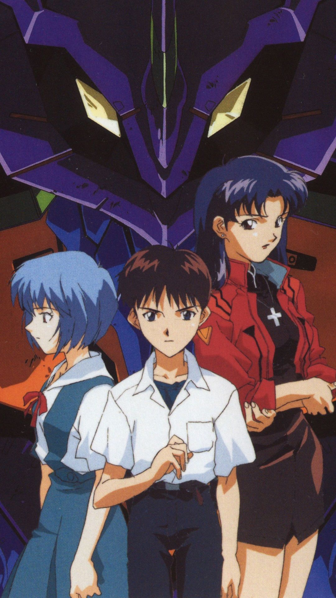 Neon Genesis Evangelion Iphone Wallpapers Top Free Neon Genesis Evangelion Iphone Backgrounds Wallpaperaccess